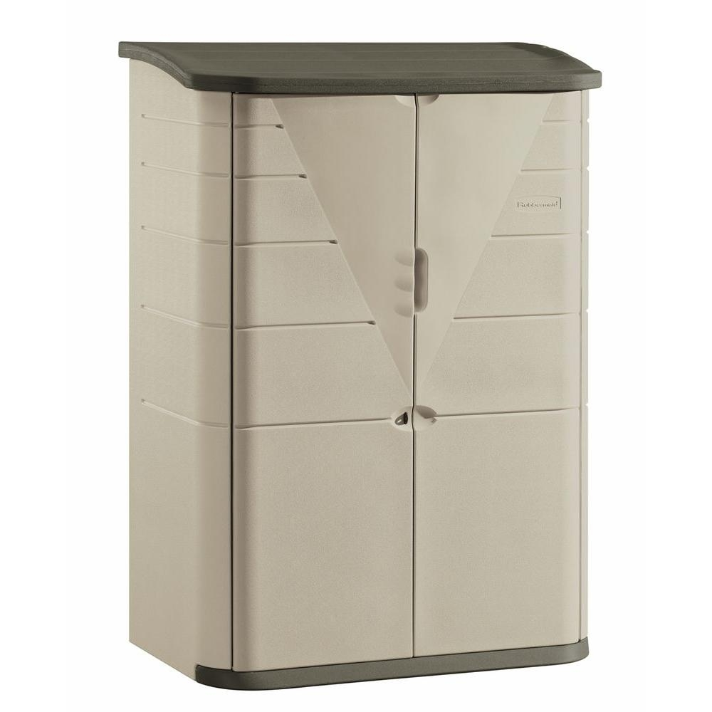 Rubbermaid Outdoor Storage Cabinet With Shelves