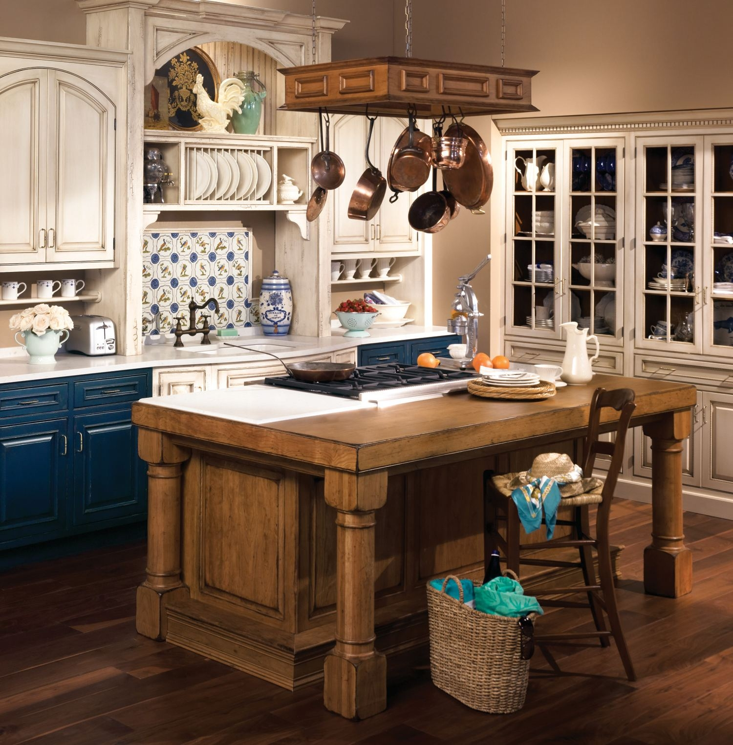 Rustic Kitchen Storage Cabinets