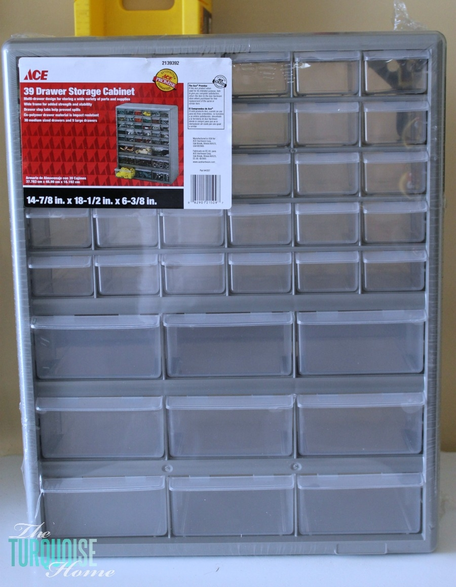 Screw And Nail Storage Cabinet