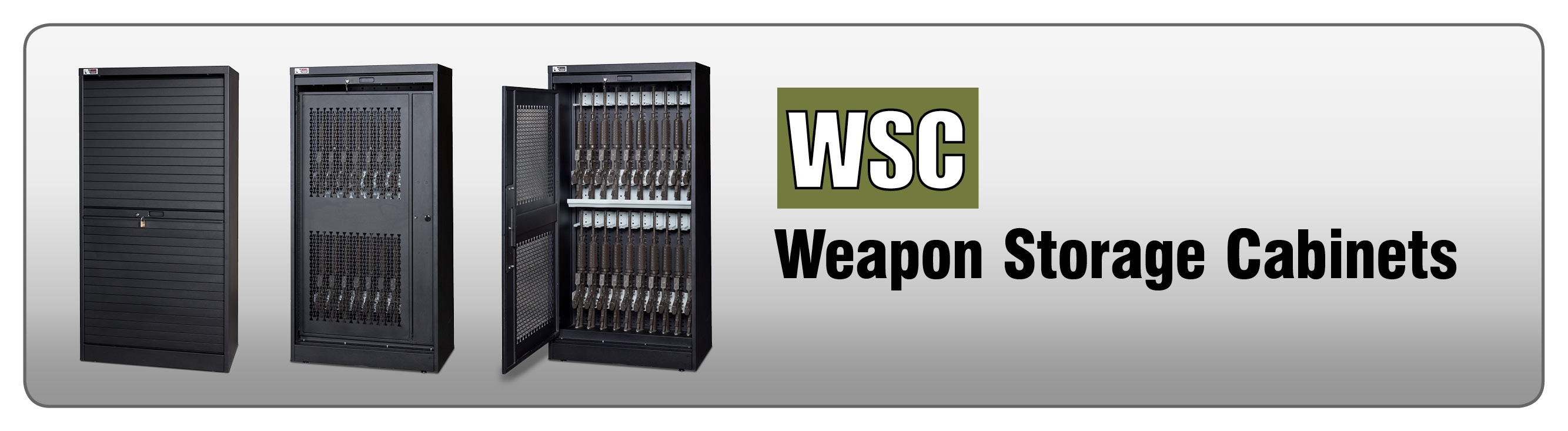 Secure Weapons Storage Cabinets