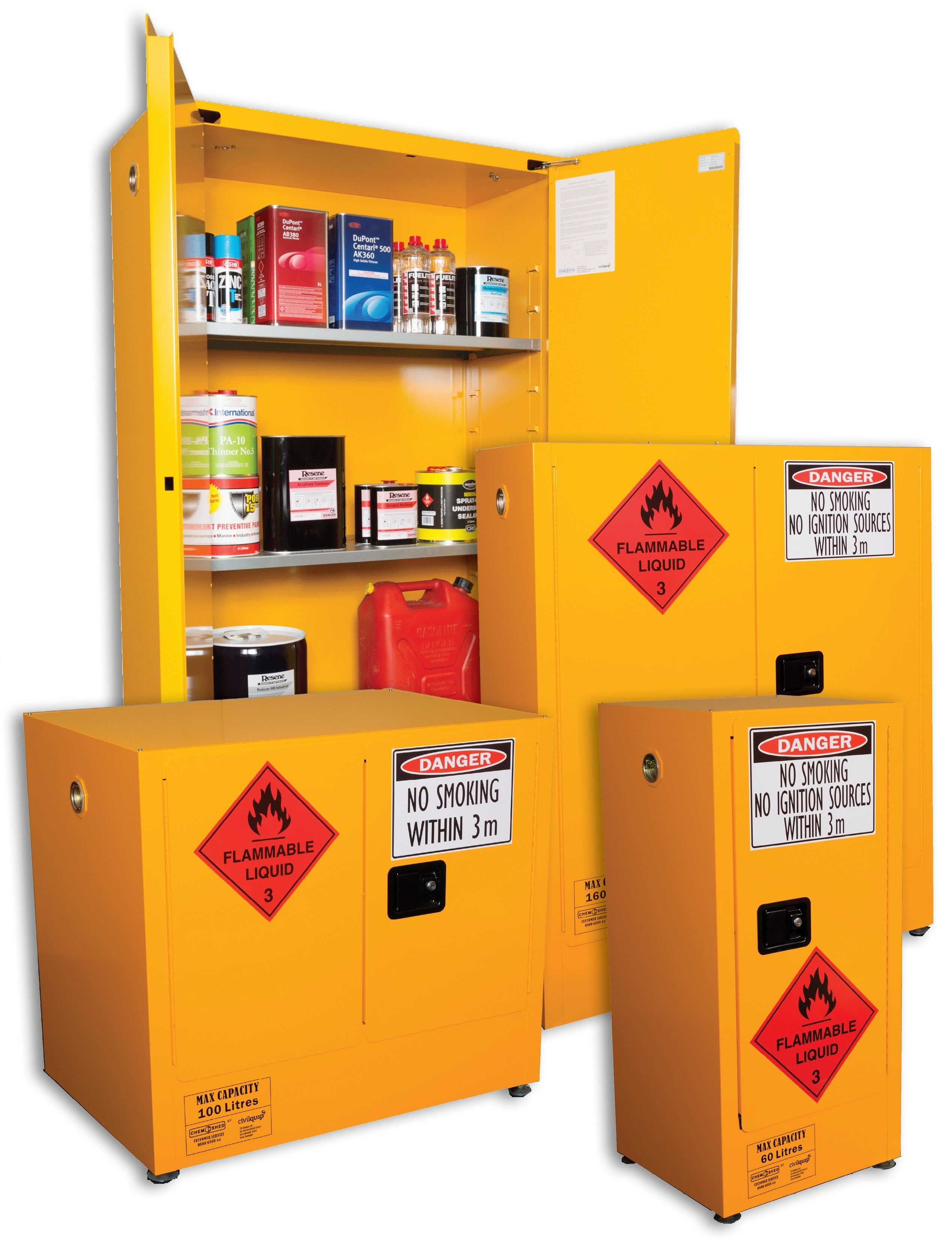 Small Flammable Liquid Storage Cabinet