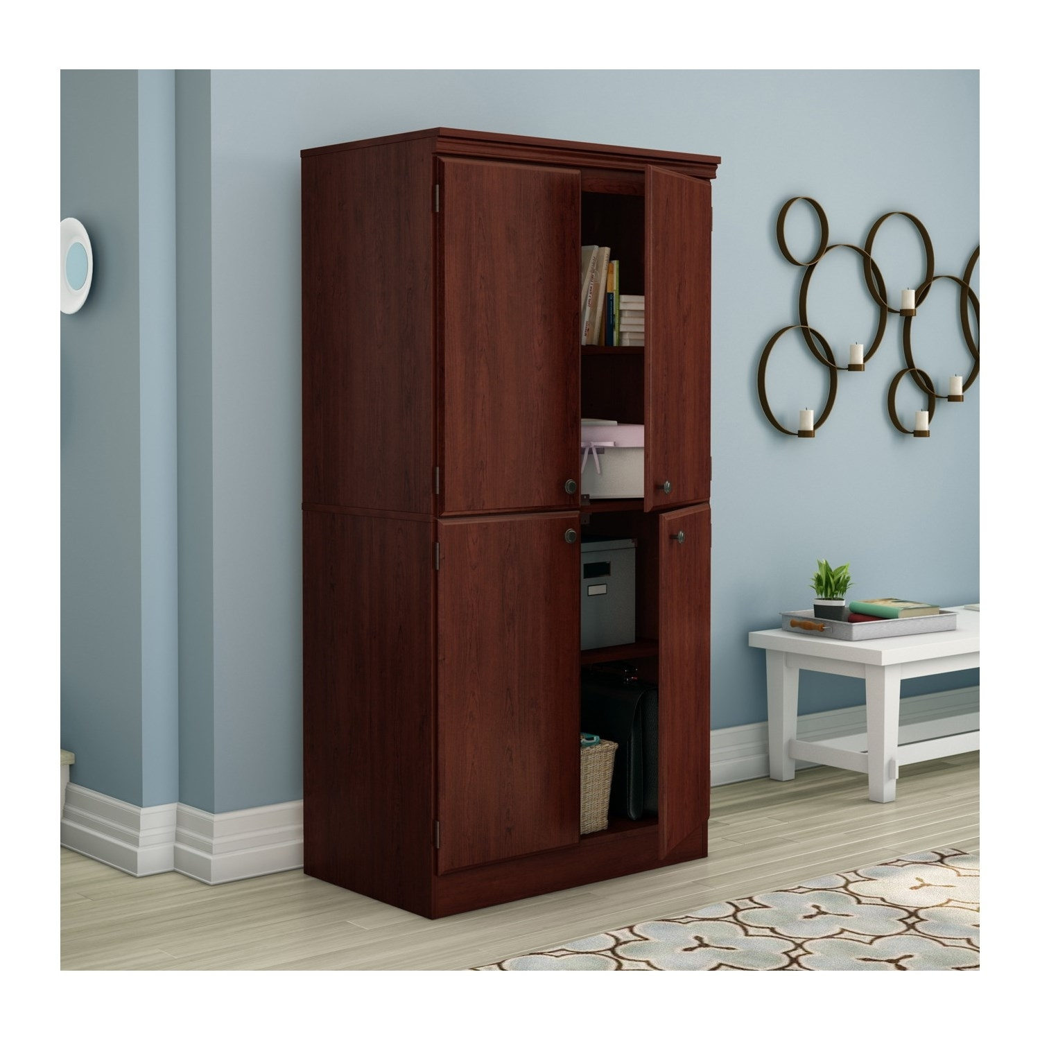 South Shore Storage Cabinet White