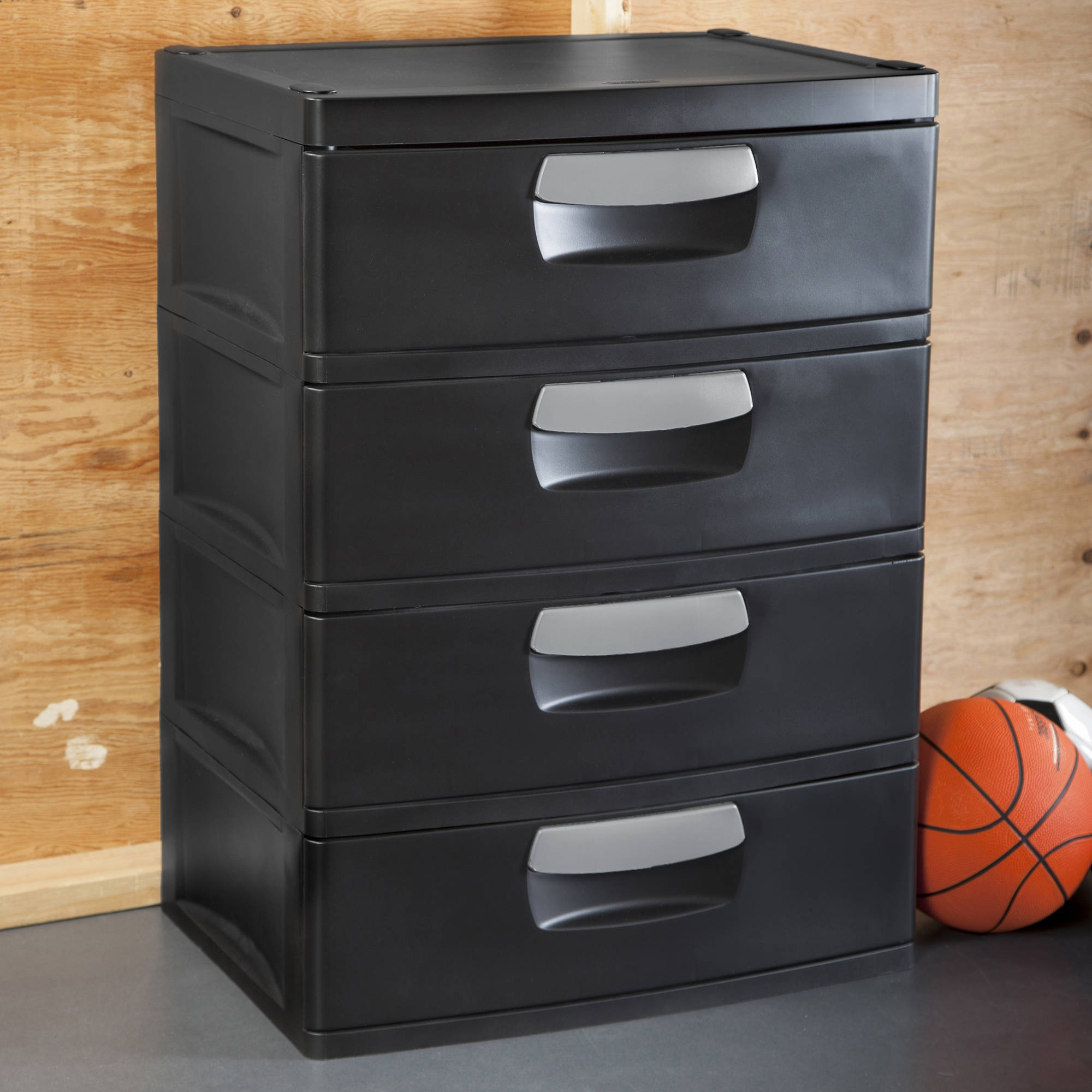 Sterilite 4 Drawer Storage Cabinet