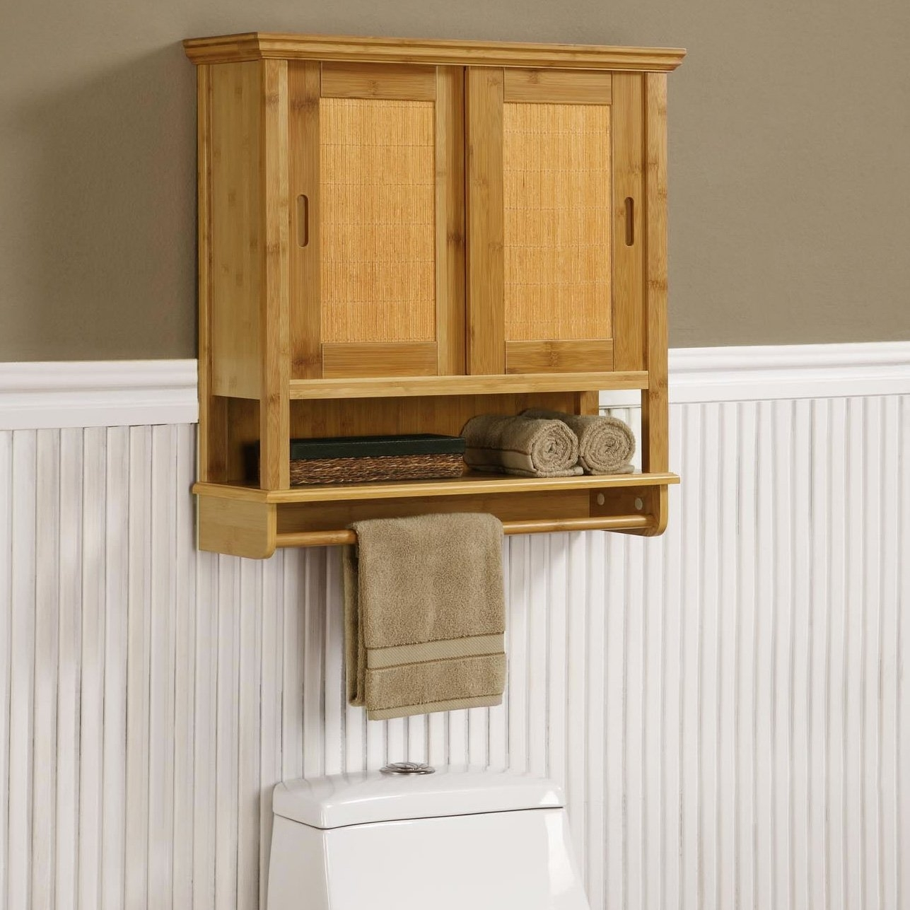 Storage Cabinets For Bathroom Wall