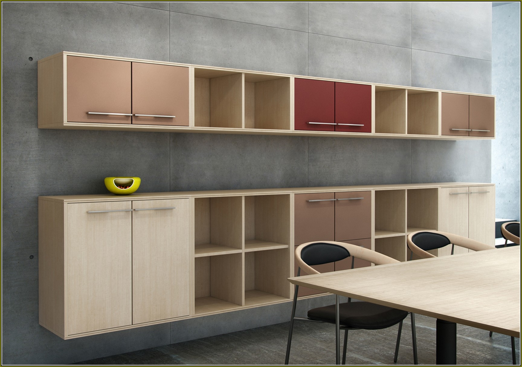 Wall Mounted Storage Cabinets Wood
