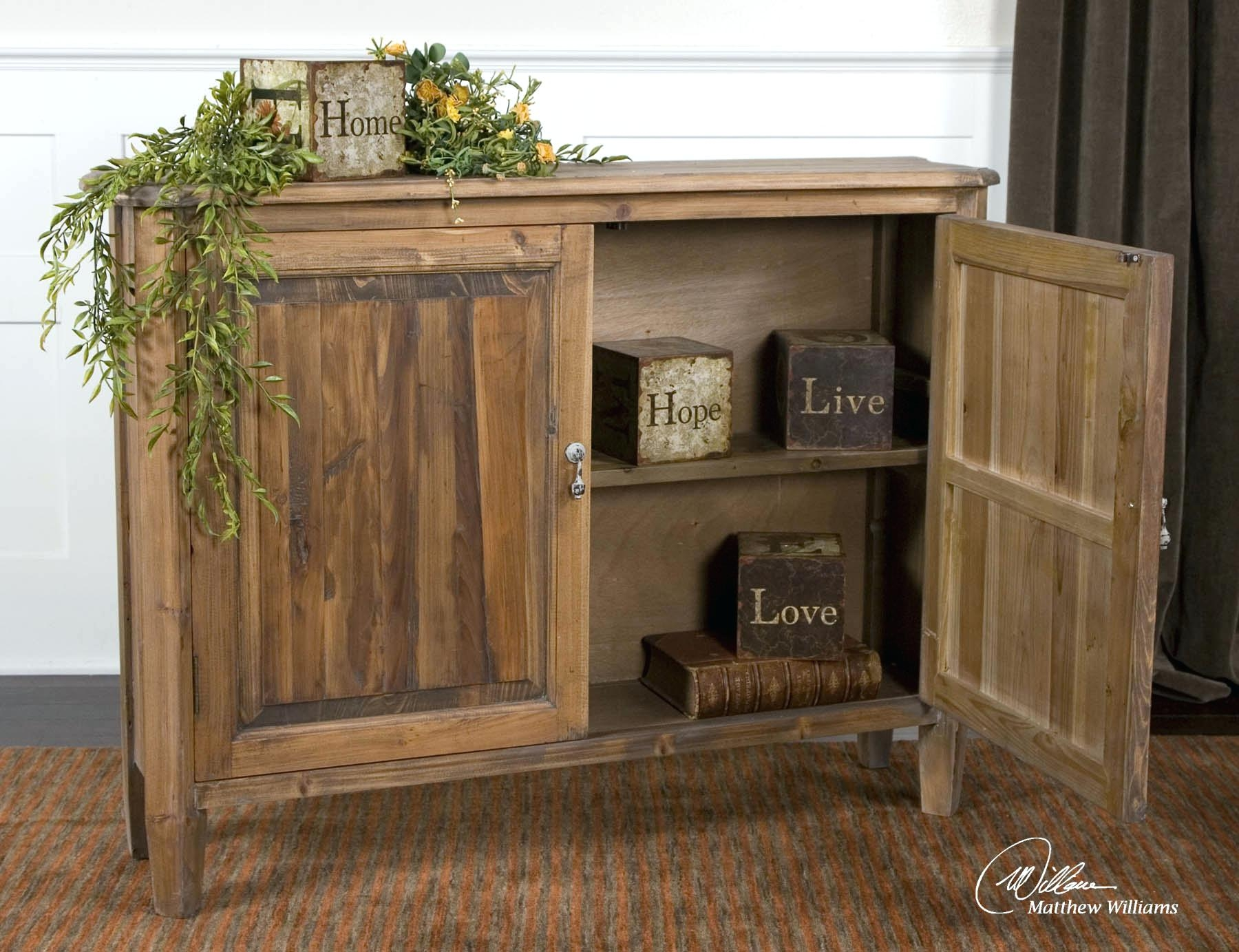 Whitley Collection Storage Console Cabinet