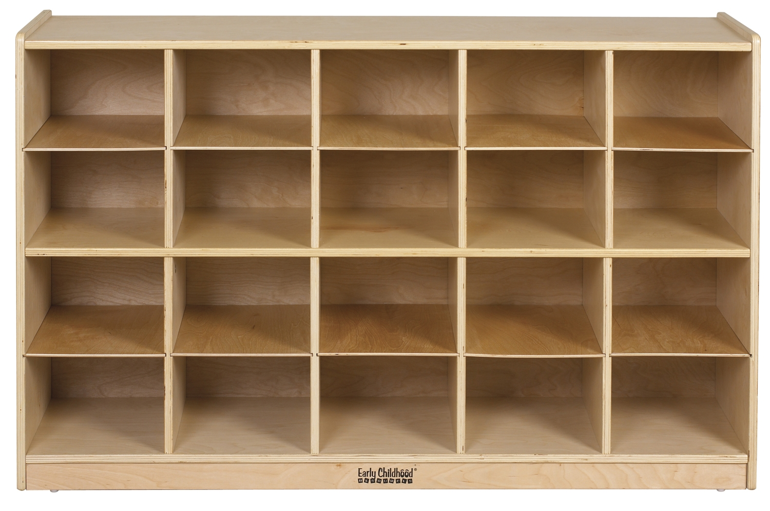 Wood Cubby Storage Cabinet