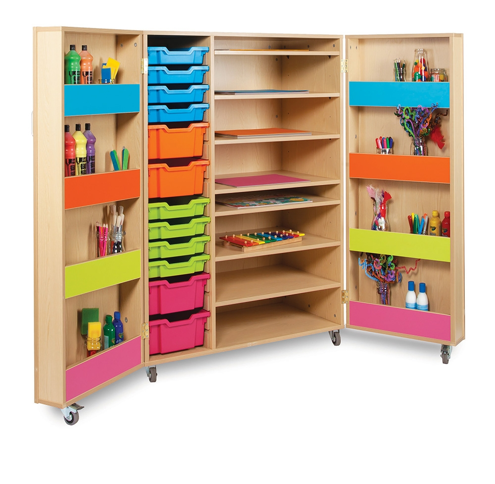 Art Supply Storage Cabinets