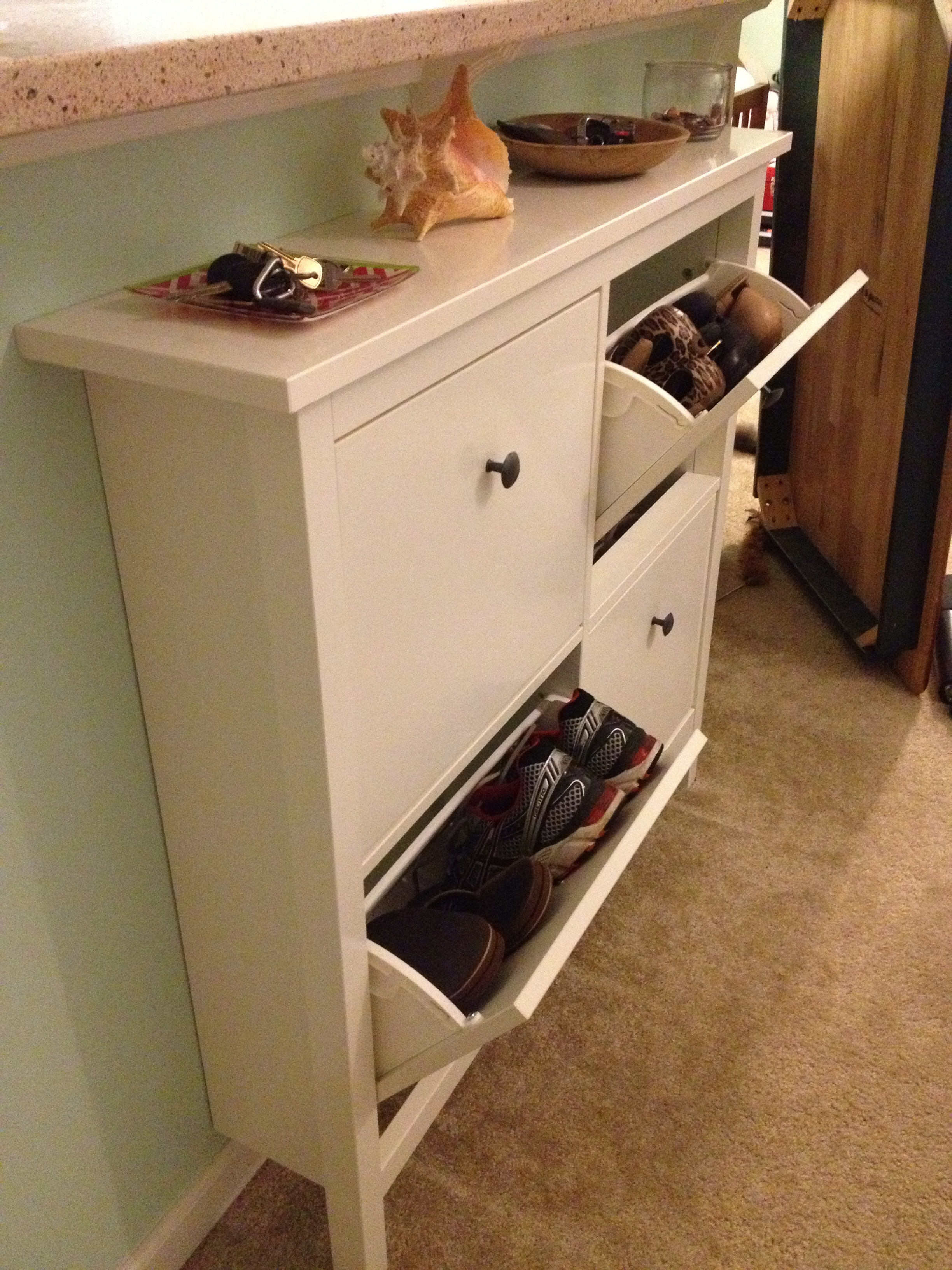 Permalink to Entryway Shoe Storage Cabinet