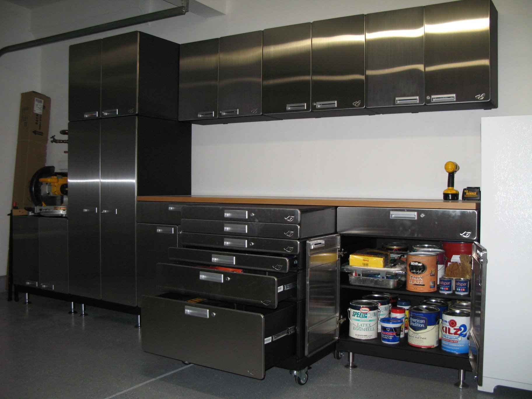 Metal Garage Cabinets And Storage