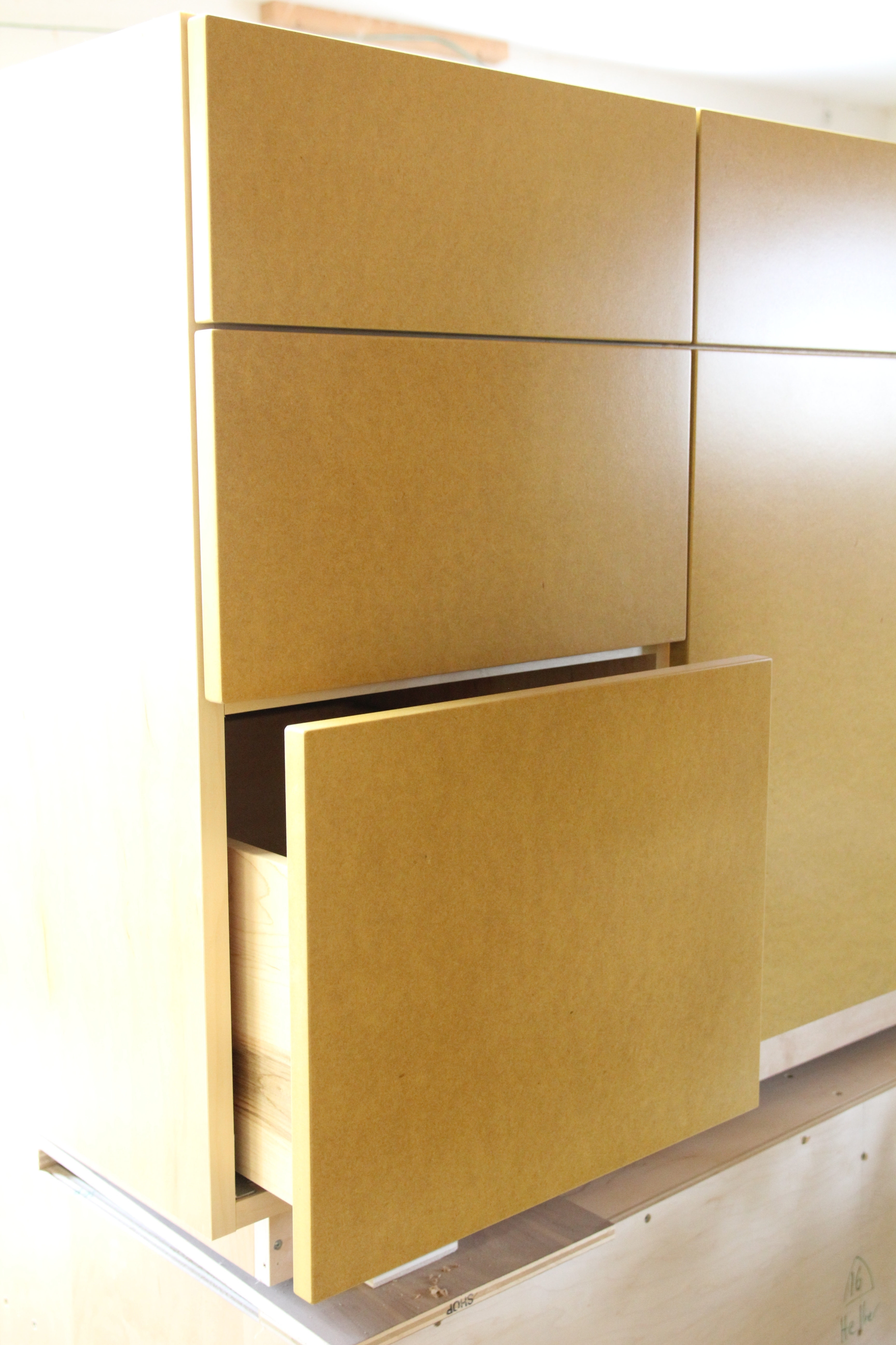 Open Face Storage Cabinets