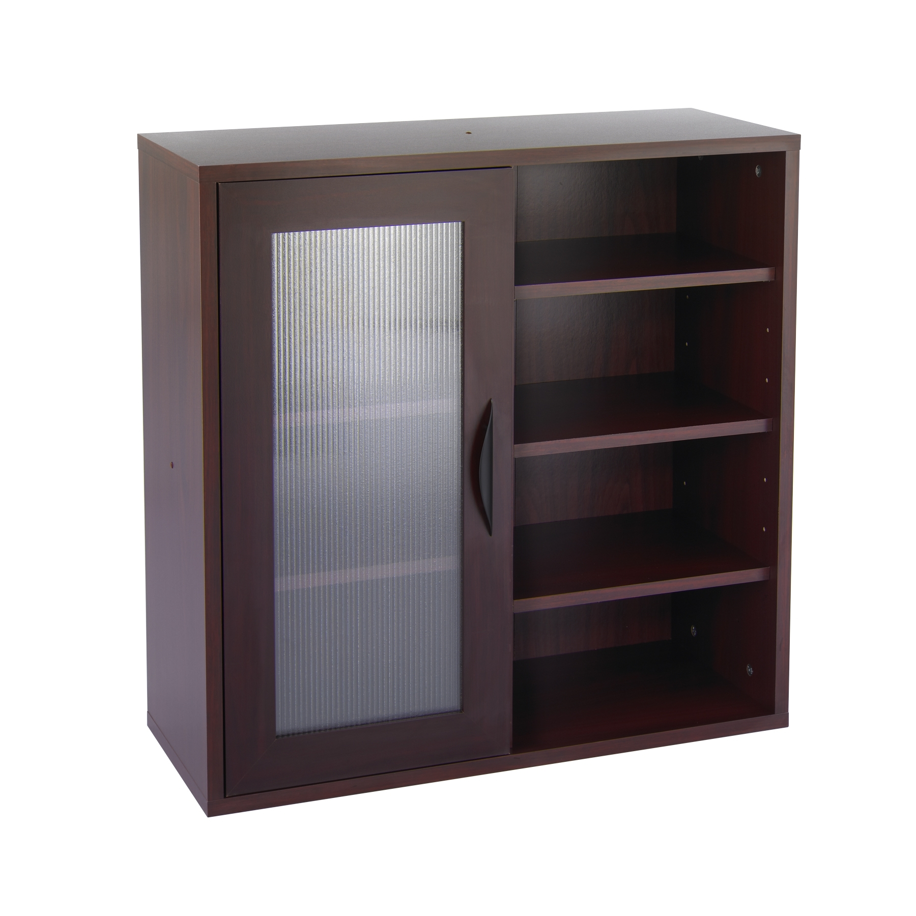 Open Wood Storage Cabinets
