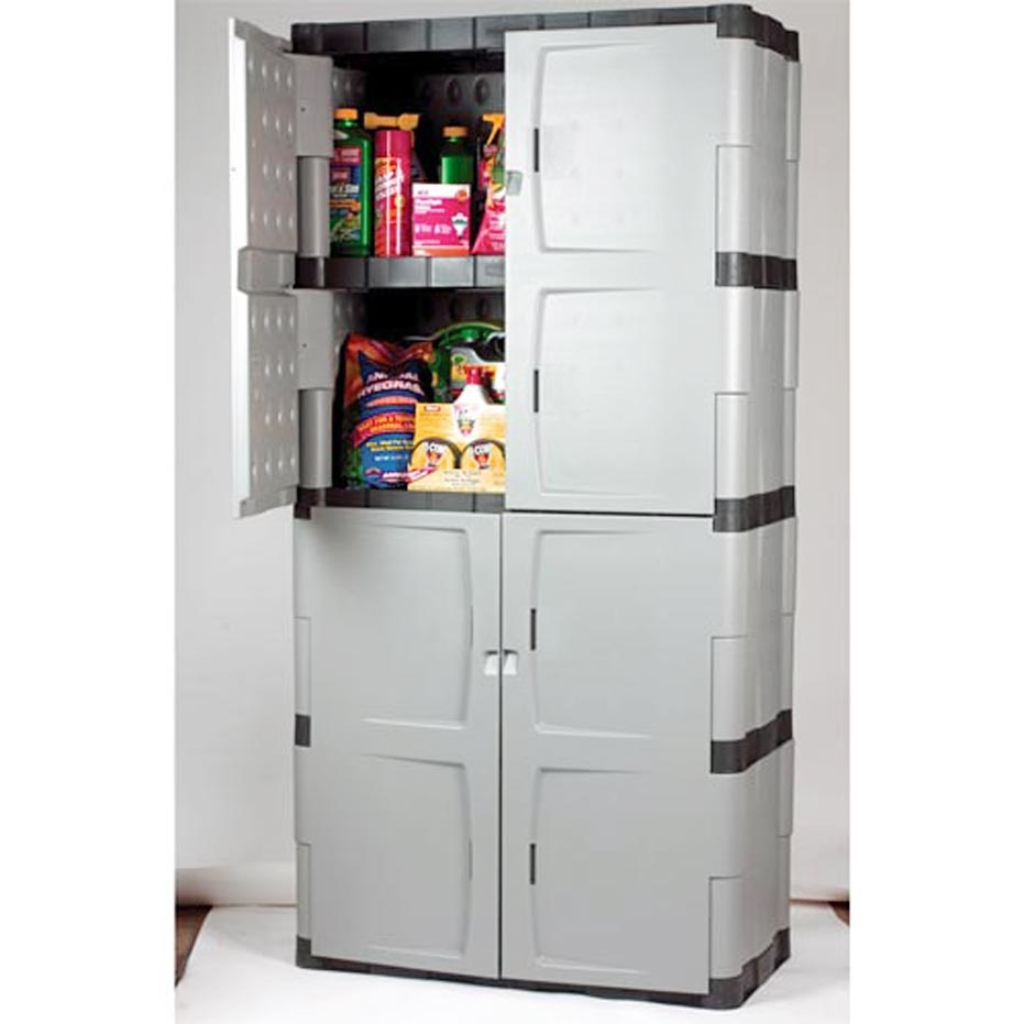 Permalink to Rubbermaid Plastic Storage Cabinets For Garage