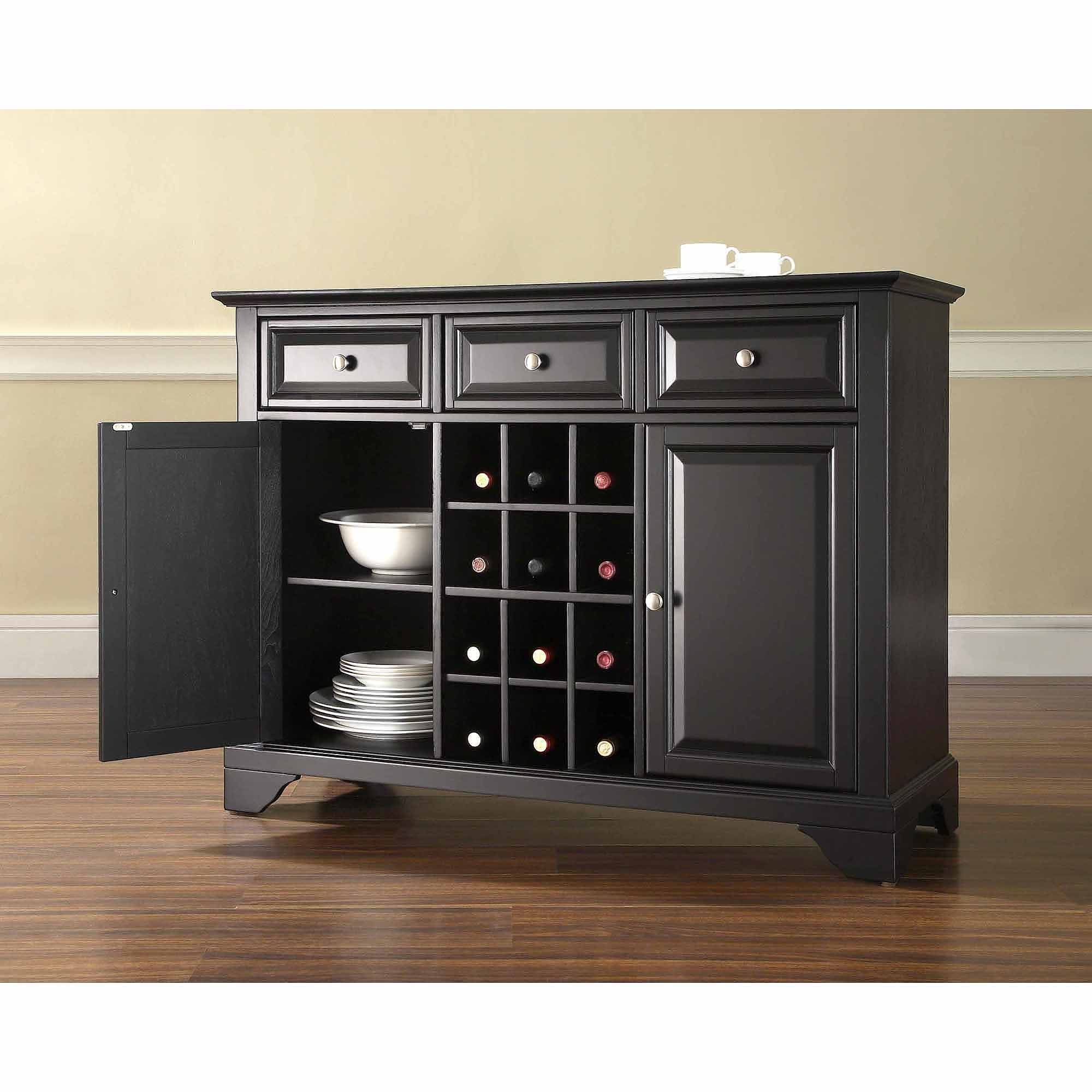 Permalink to Sideboard Cabinet With Wine Storage