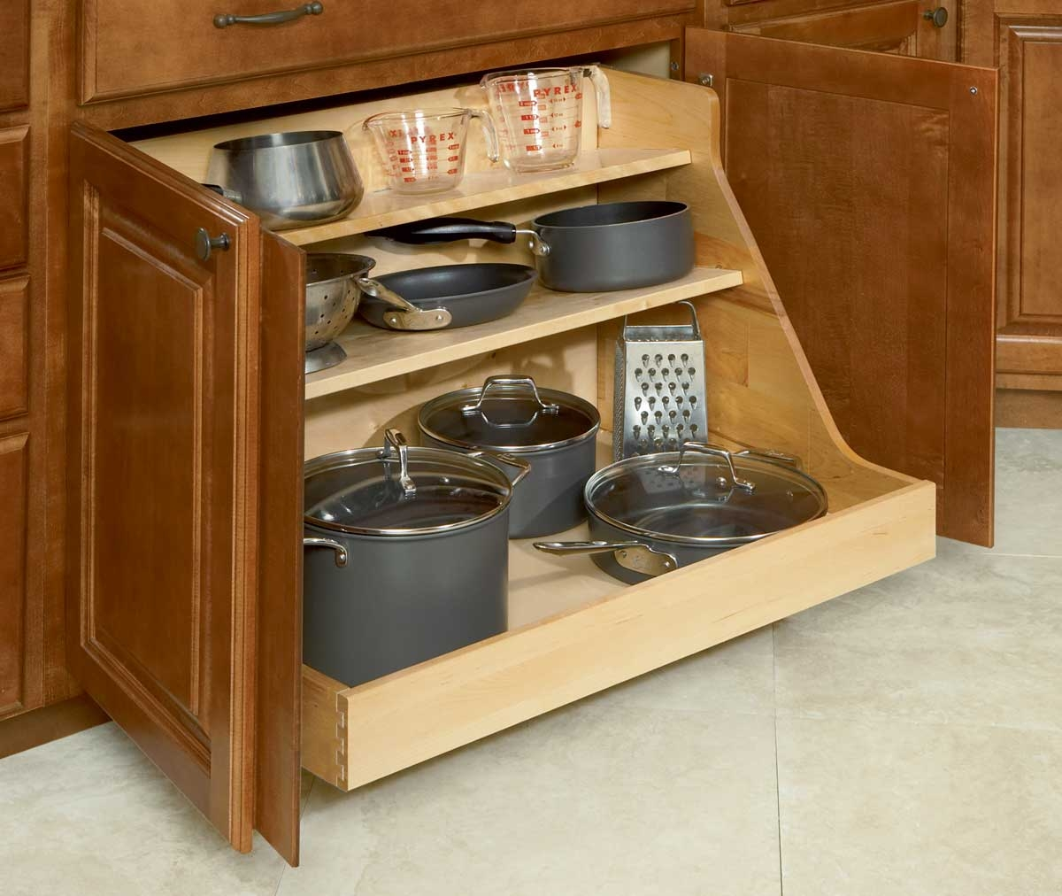 Permalink to Storage Drawers For Kitchen Cabinets
