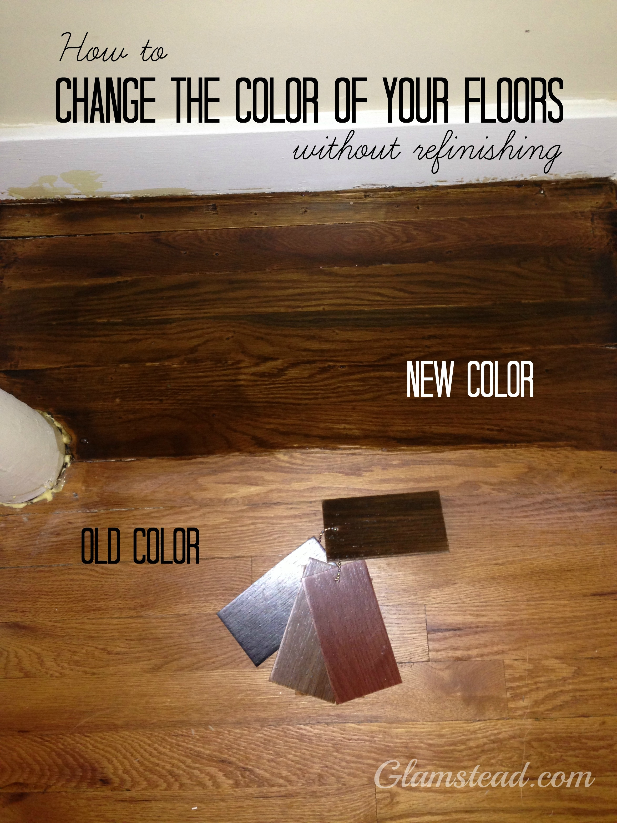 Change Color Of Engineered Wood Floor