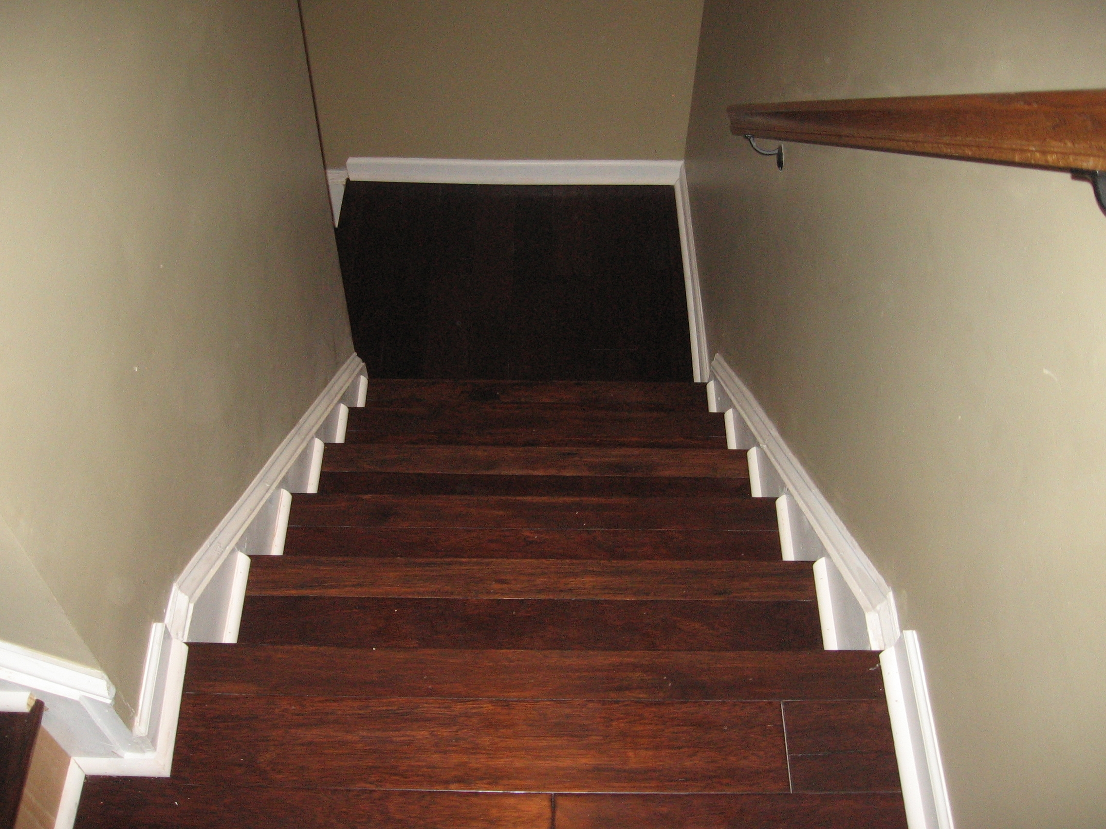 Laying Engineered Wood Flooring On Stairs