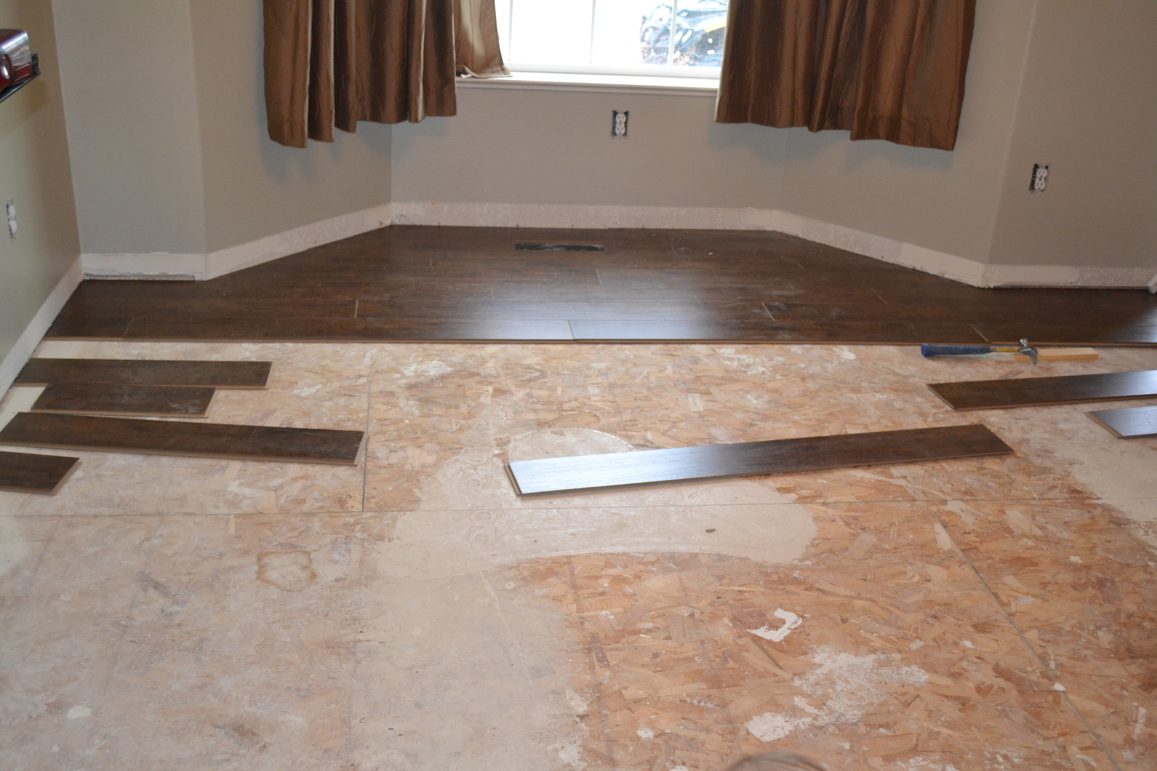 Put Wood Flooring Over Tile