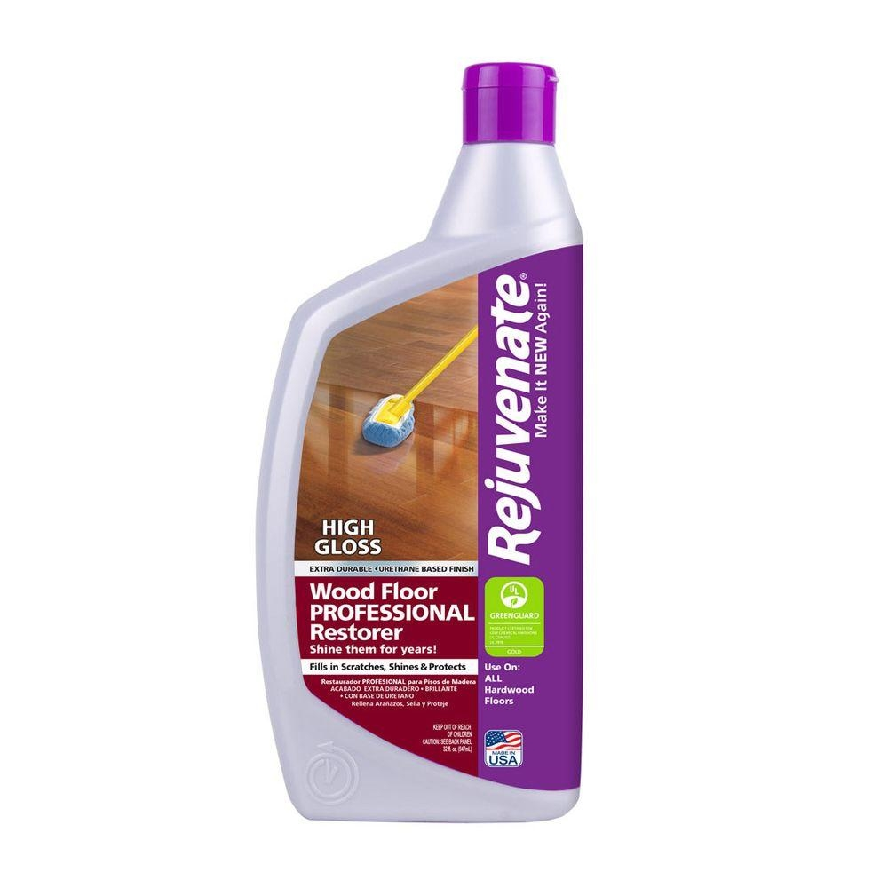 Shine Wood Floors Productsrejuvenate 32 oz professional high gloss wood floor restorer