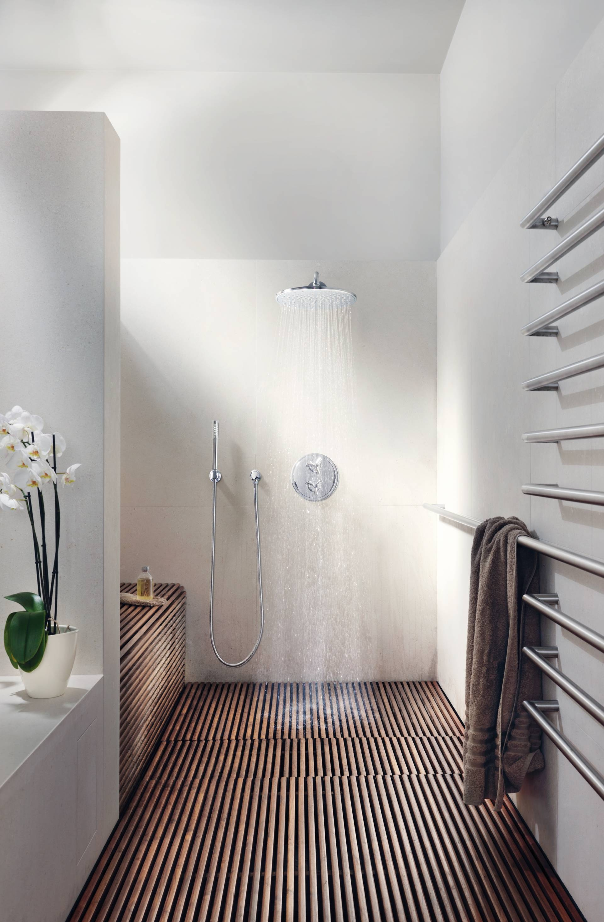 Shower Floor Wood Slats
