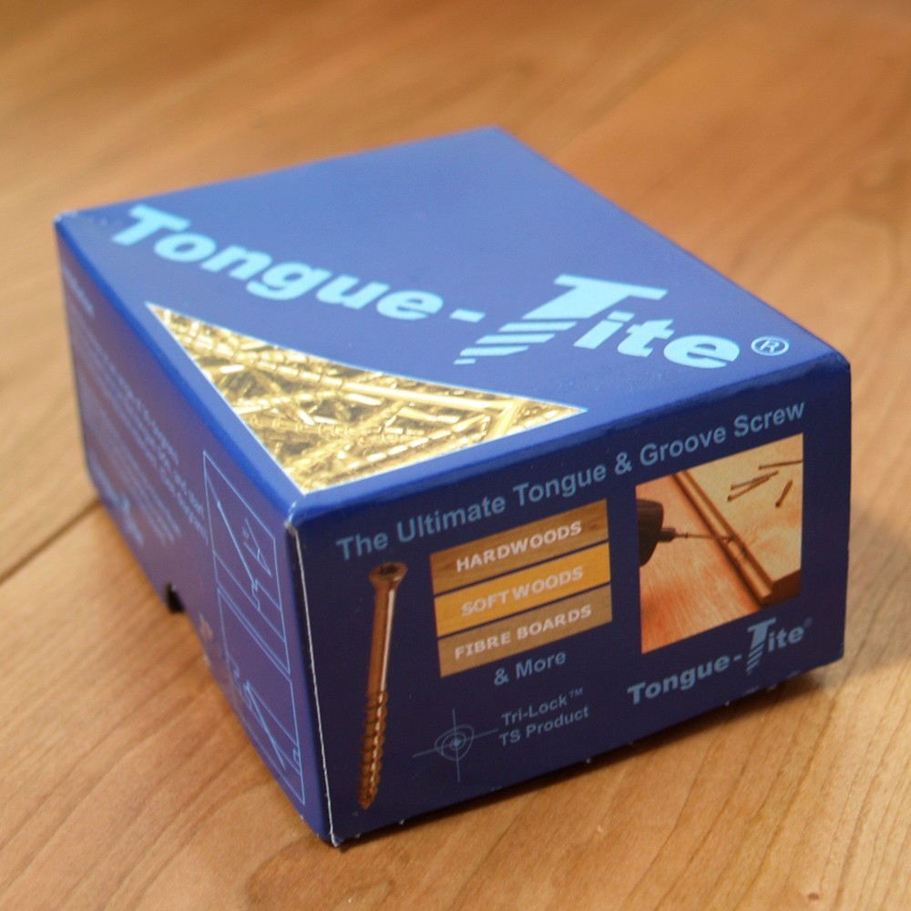 Tongue Tite Wood Flooring Screws