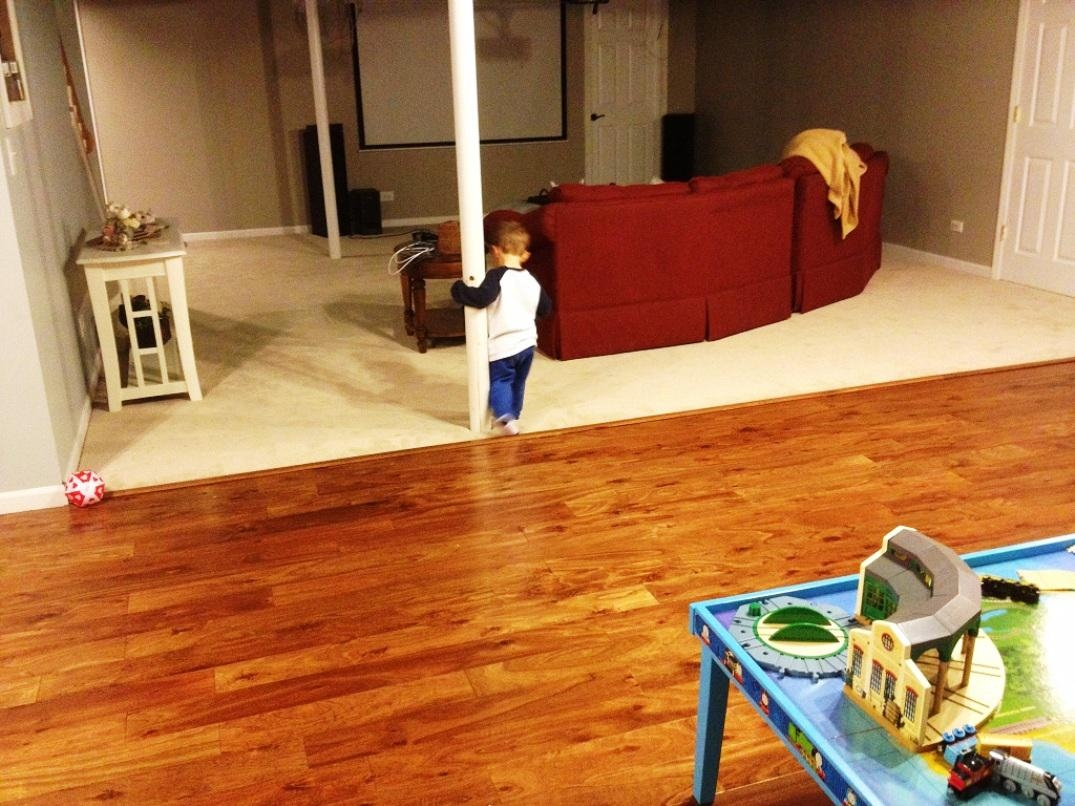 Permalink to Wood Floors Over Concrete Basement