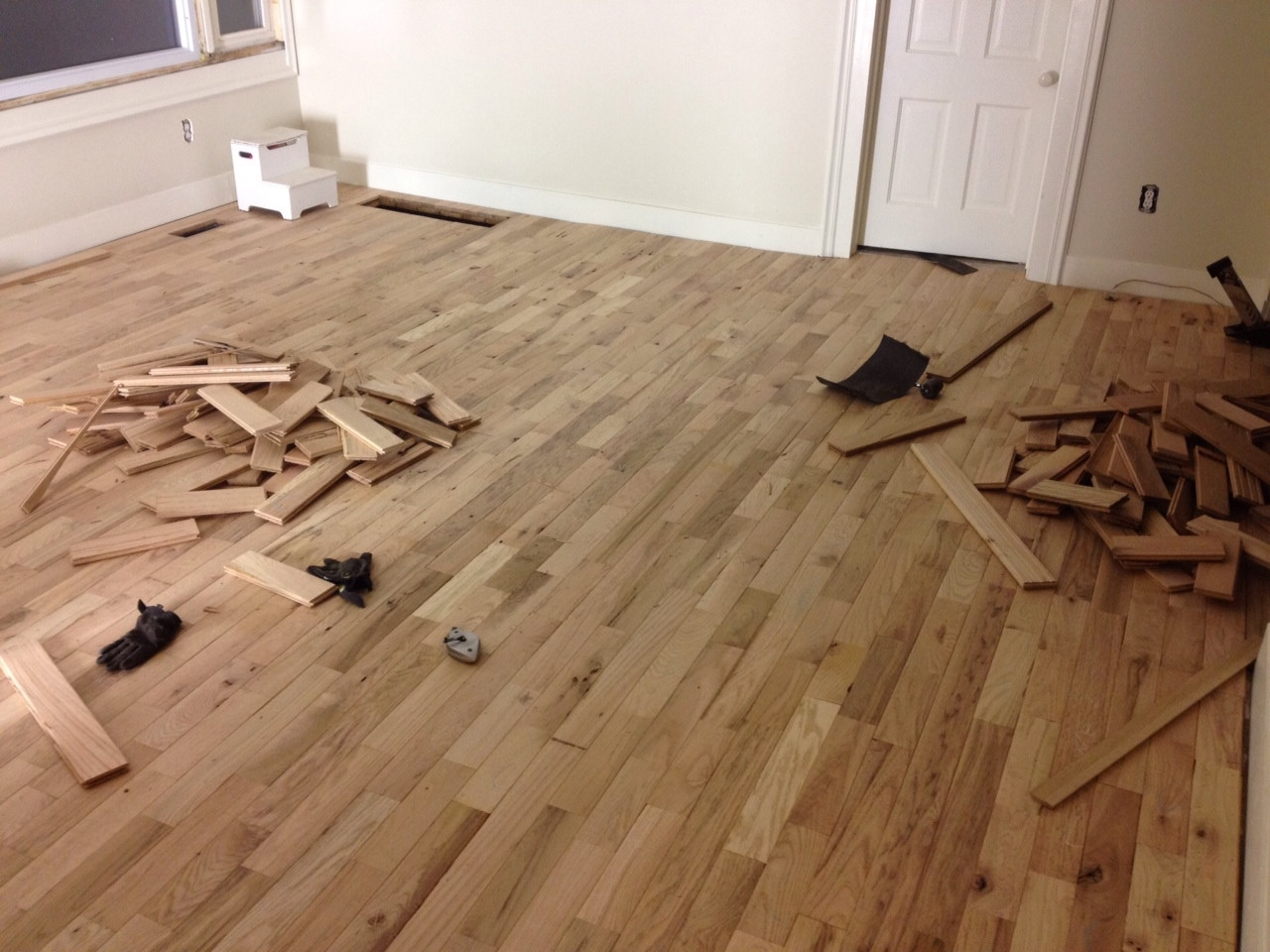 Cabin Grade Wood Flooring