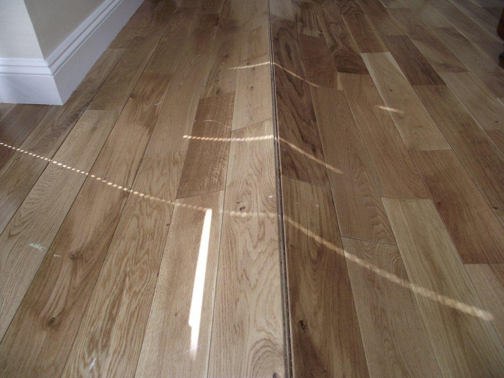 Laying Floating Solid Wood Flooring On Concrete Wood