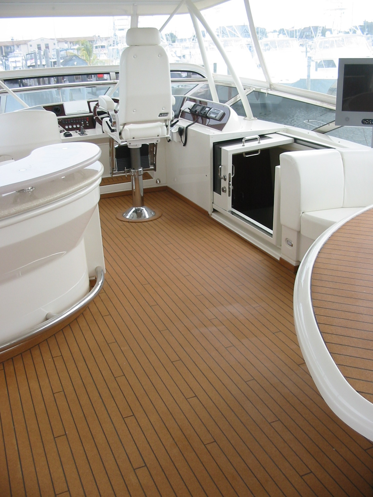 Imitation Wood Flooring For Boats