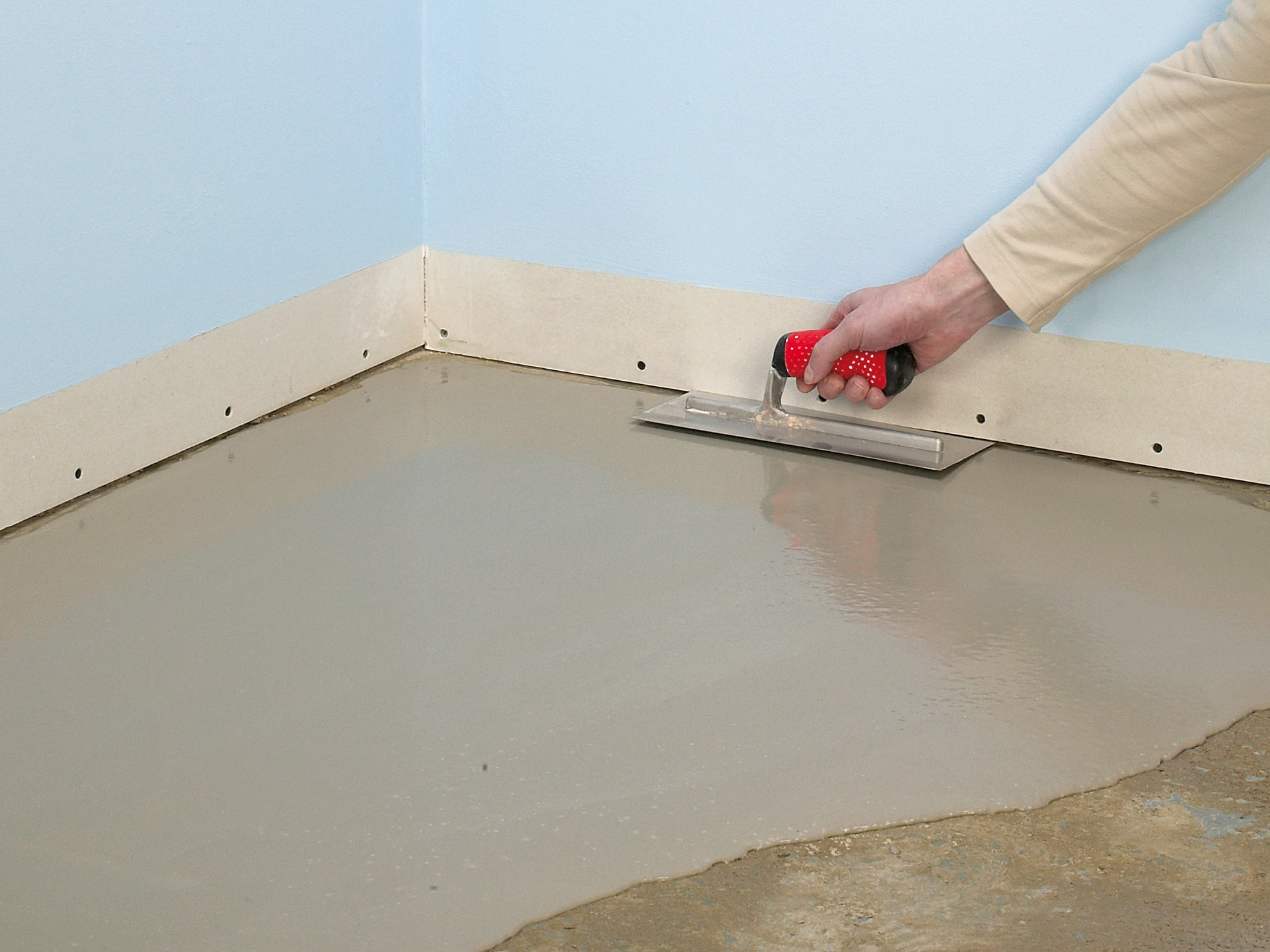 Laying Solid Wood Floor Over Concrete