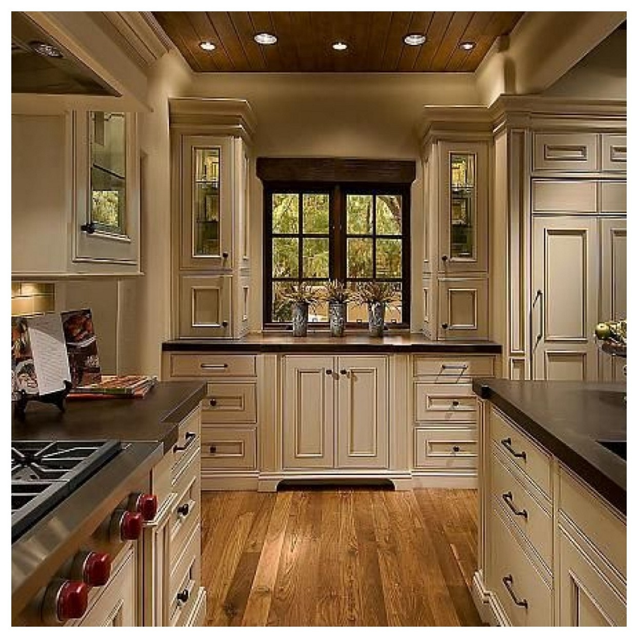 Matching Wood Floors To Cabinets