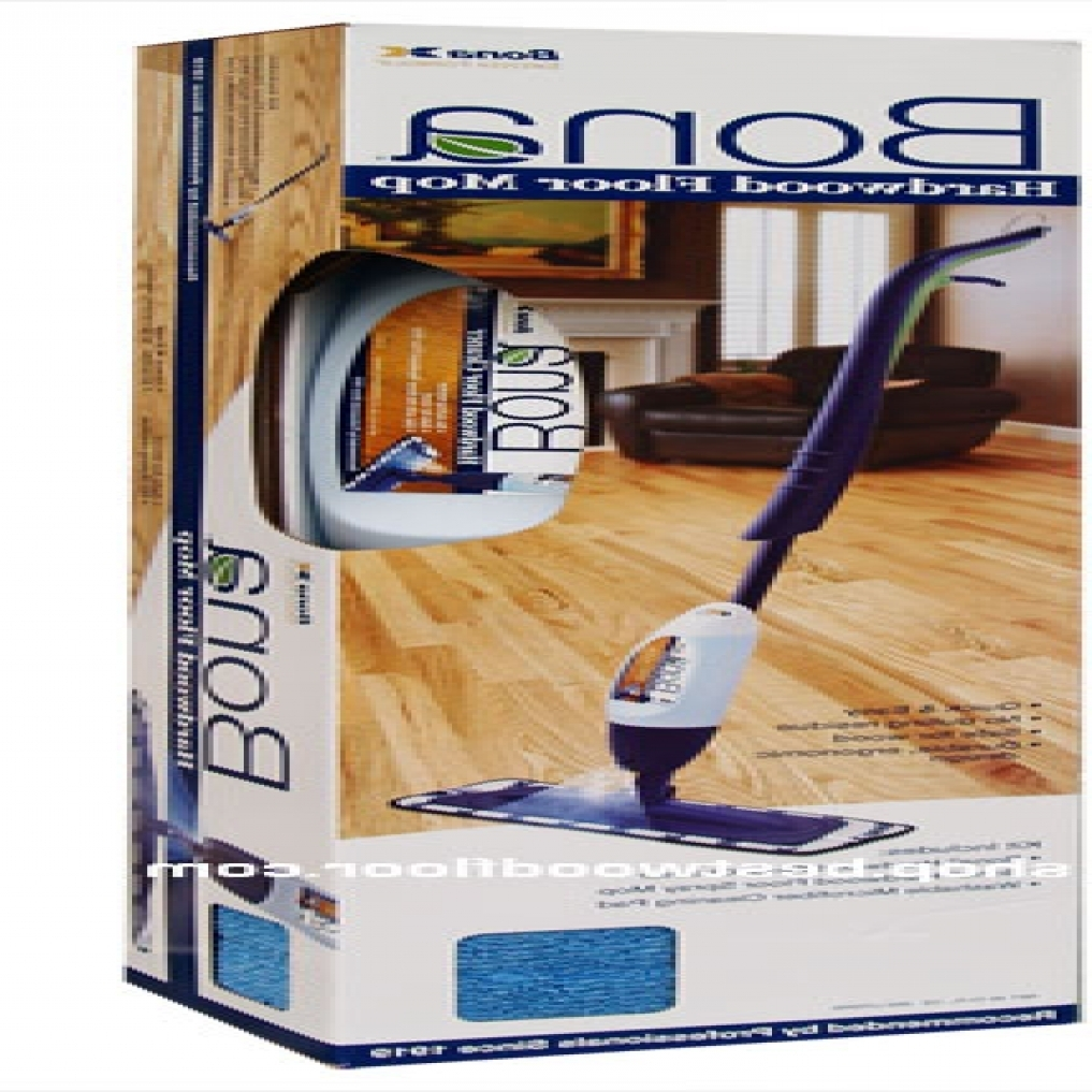 Mopping Wood Floors With Pine Sol