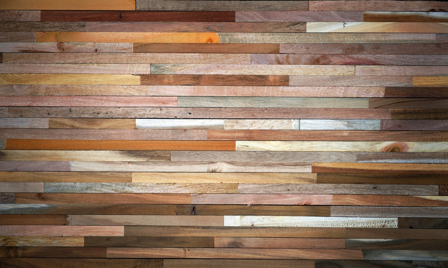 Multi Colored Wood Flooring