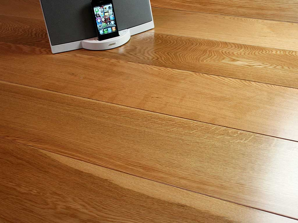 Solid Wood Floor Lacquered Or Oiled