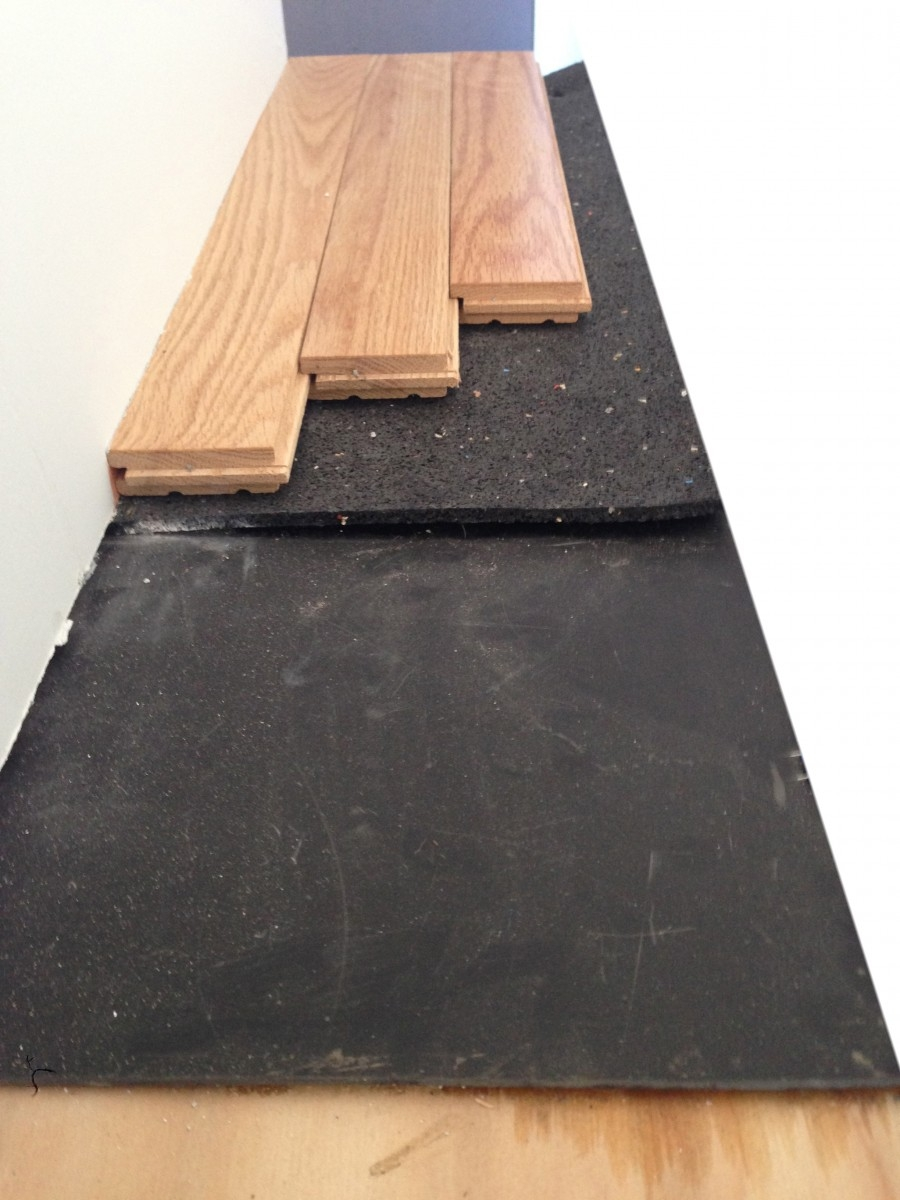 Soundproof Wood Floor Underlay
