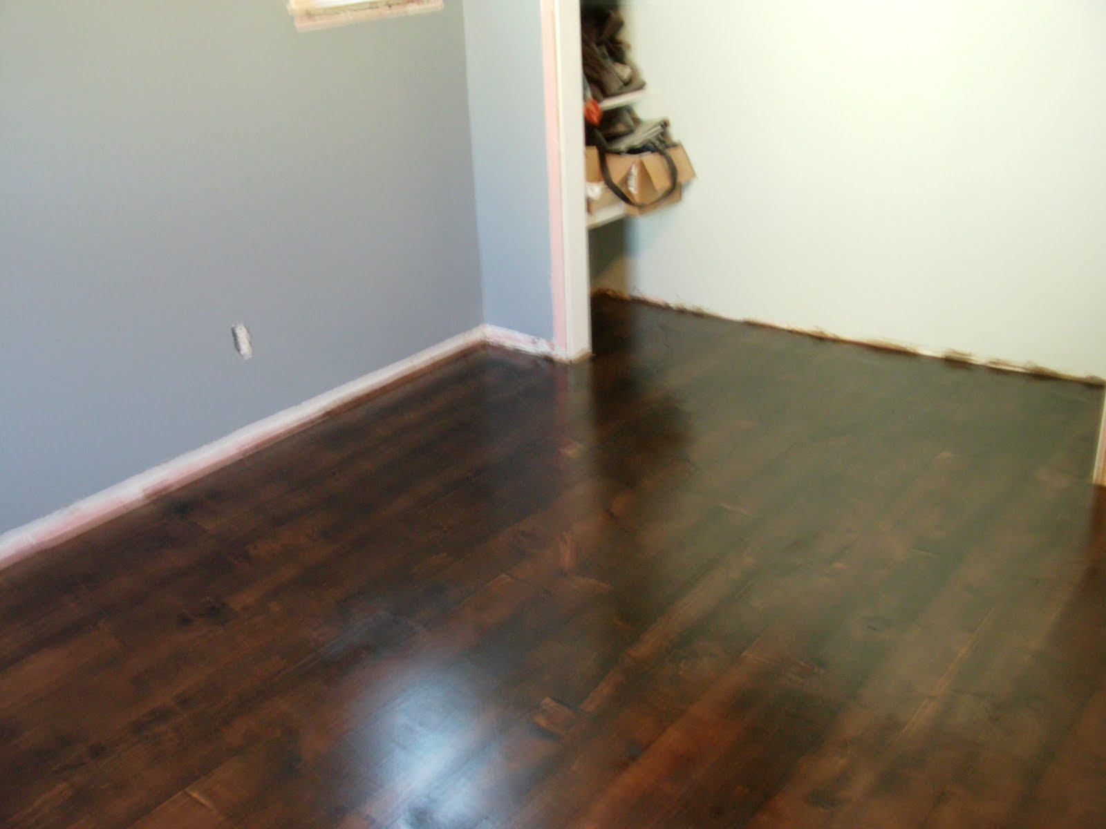 Staining Light Wood Floors Dark