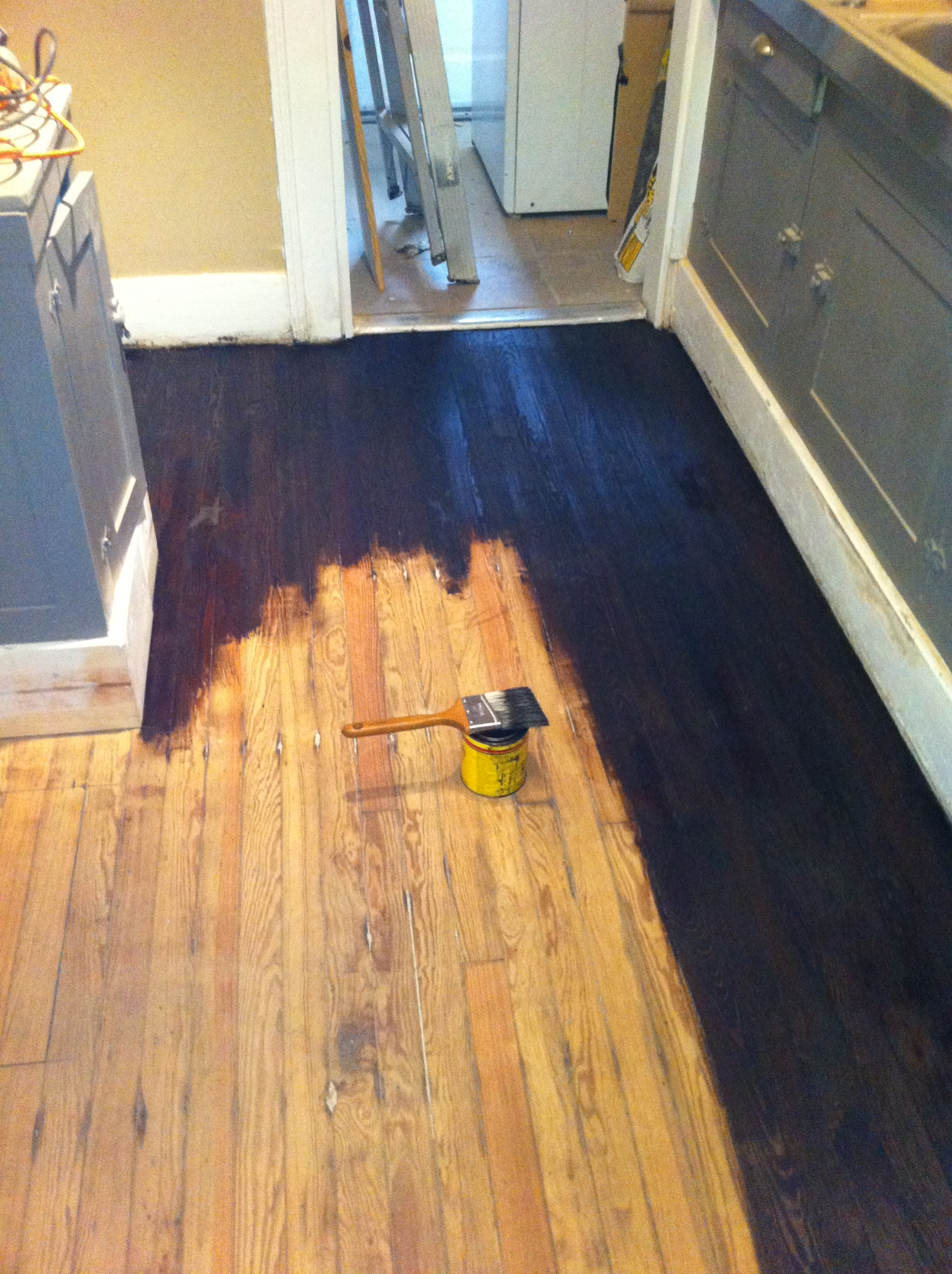 Staining Wood Floors Without Sanding
