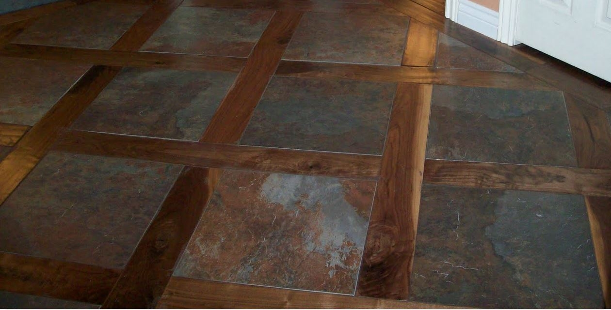Wood And Tile Combo Floor Designs