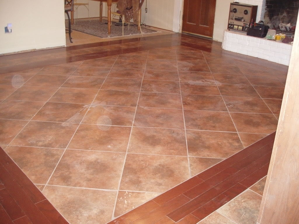 Wood And Tile Floor Designs