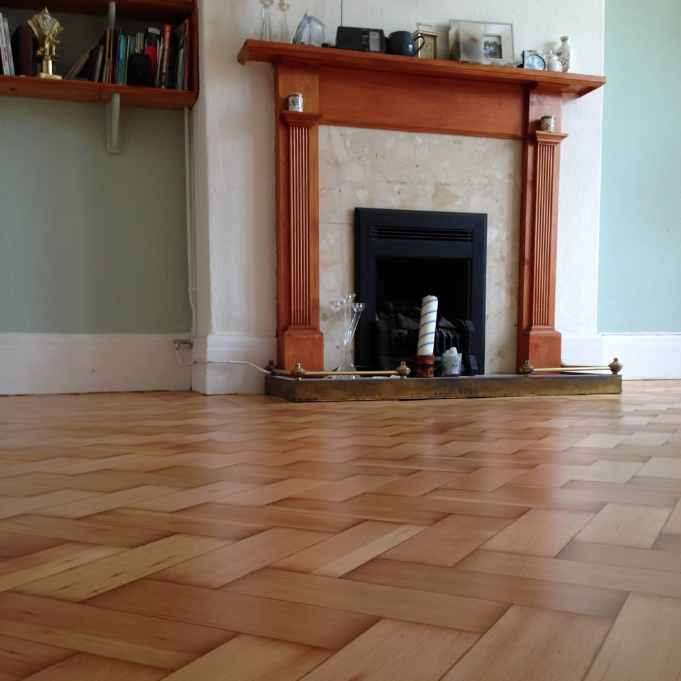 Wood Block Flooring Cardiff