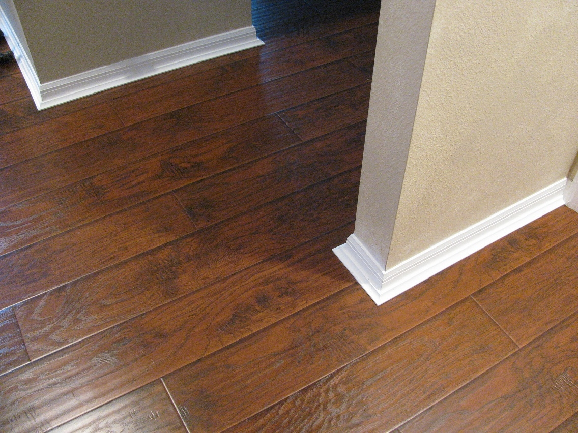 Wood Floor Edging Ideas