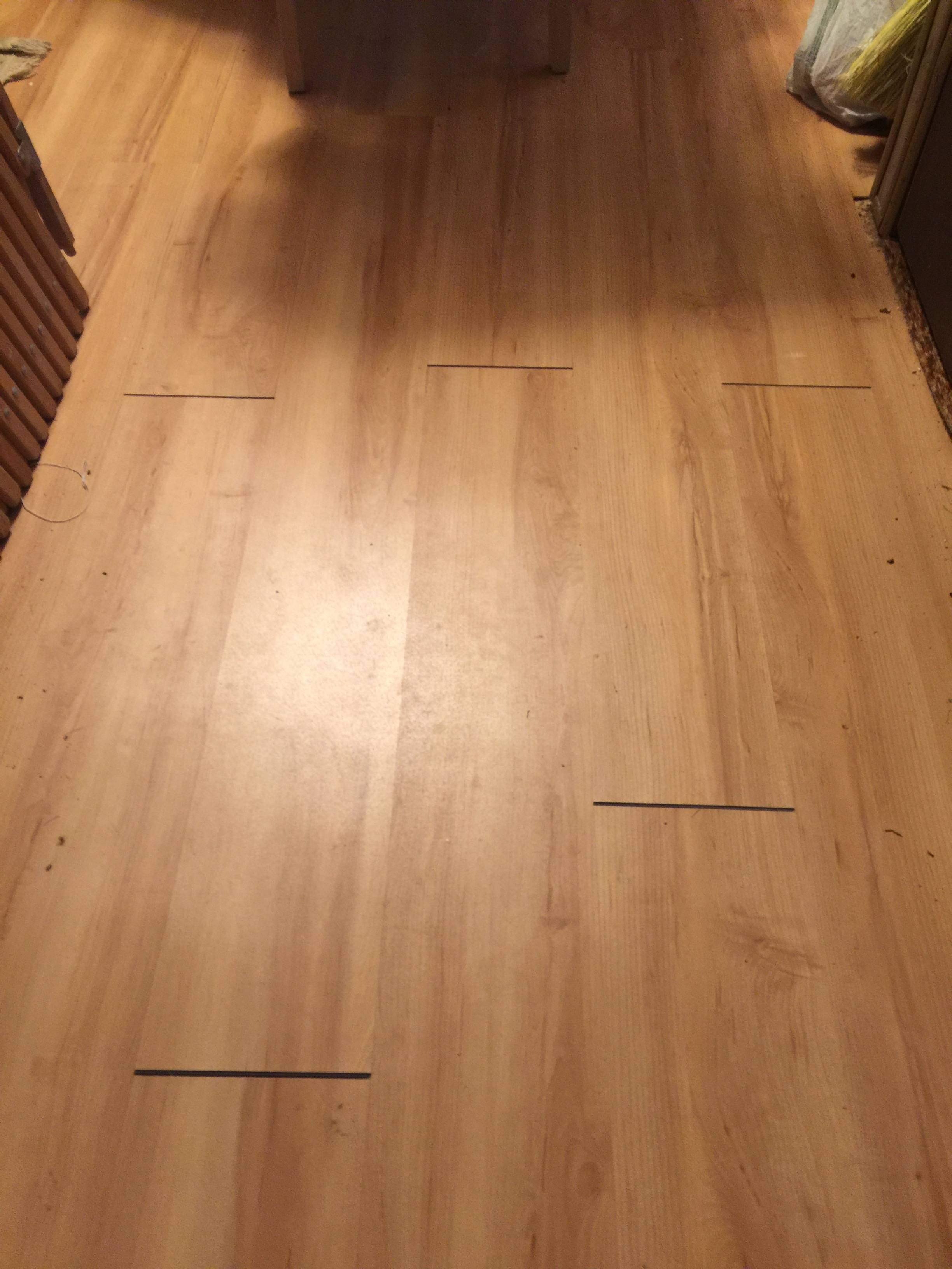 Wood Floor Slats Separating2448 X 3264