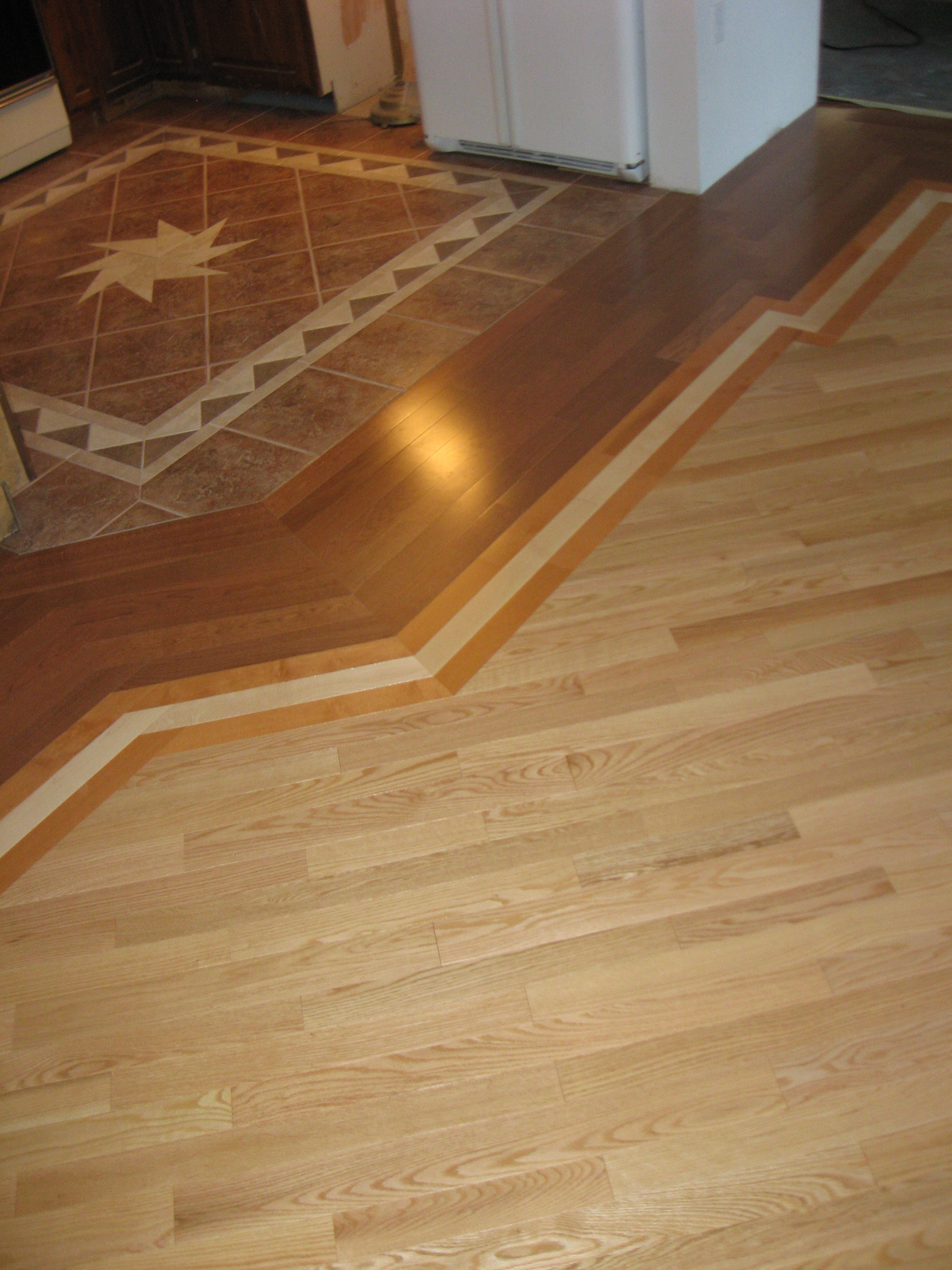 Wood Floor Transition Piecestransition between old wood floors and new old and new hardwoods