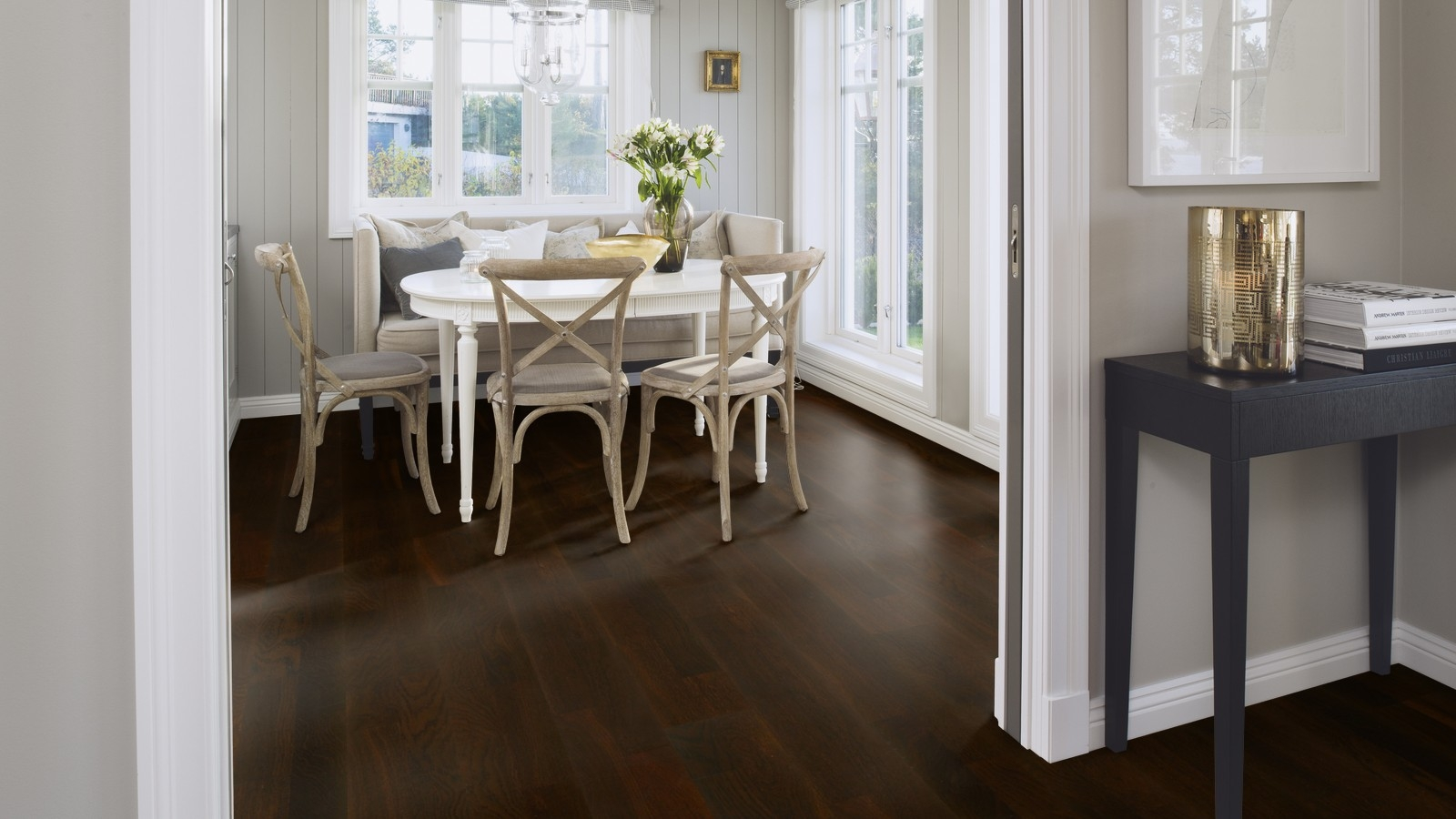 Boen Noir Engineered Oak Wood Flooring
