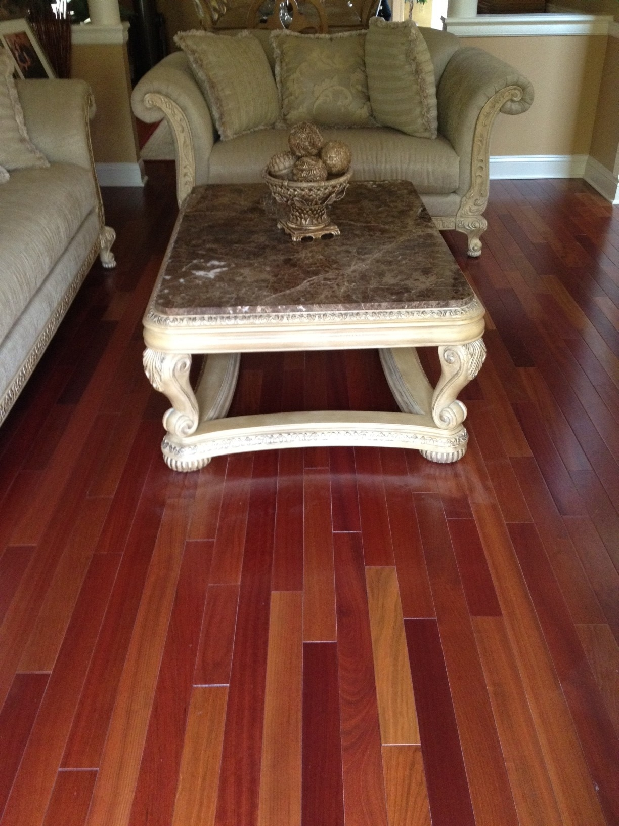 Br 111 Brazilian Cherry Triangulo Engineered Wood Flooring