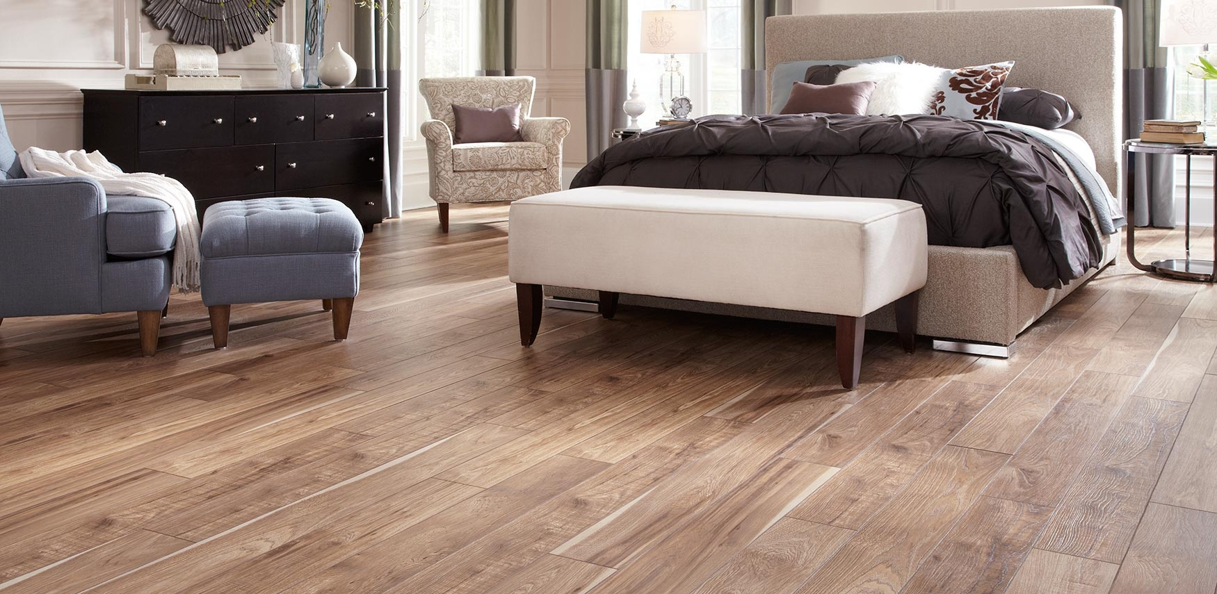 Faux Wood Laminate Flooring