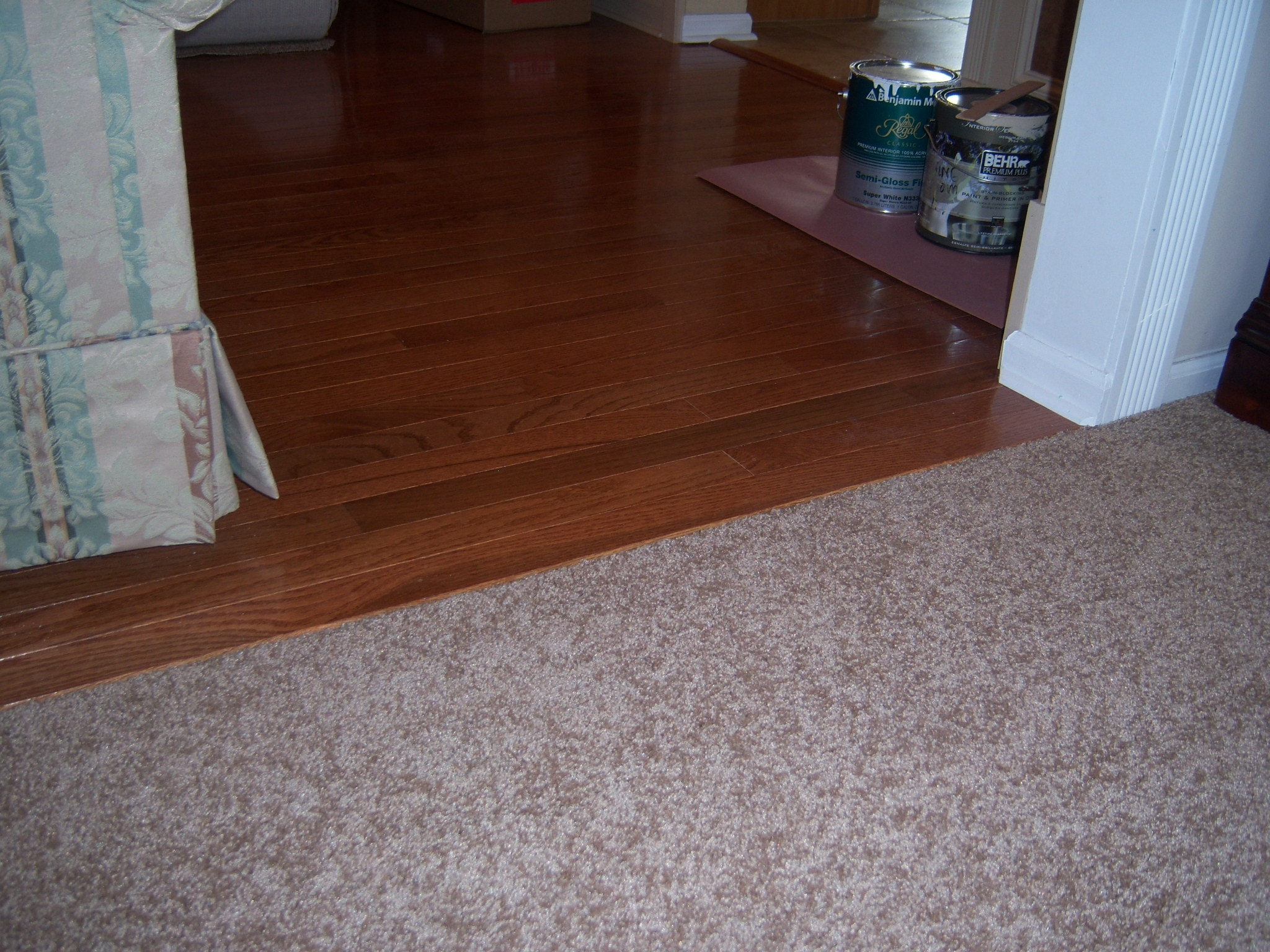 Floating Wood Floor To Carpet Transition