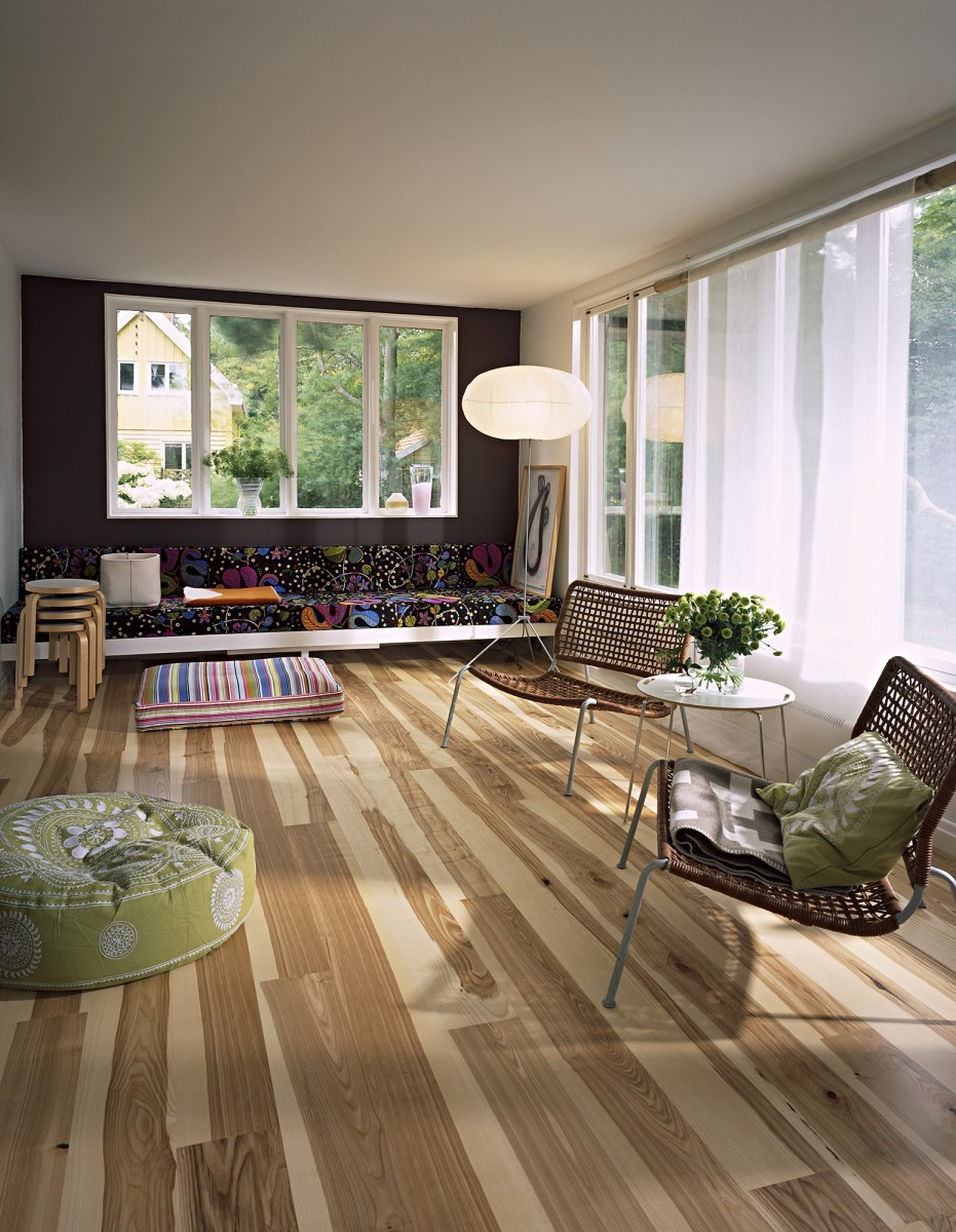 Kahrs Ash Gotland Engineered Wood Flooringash gotland 1 strip satin lacquer finish