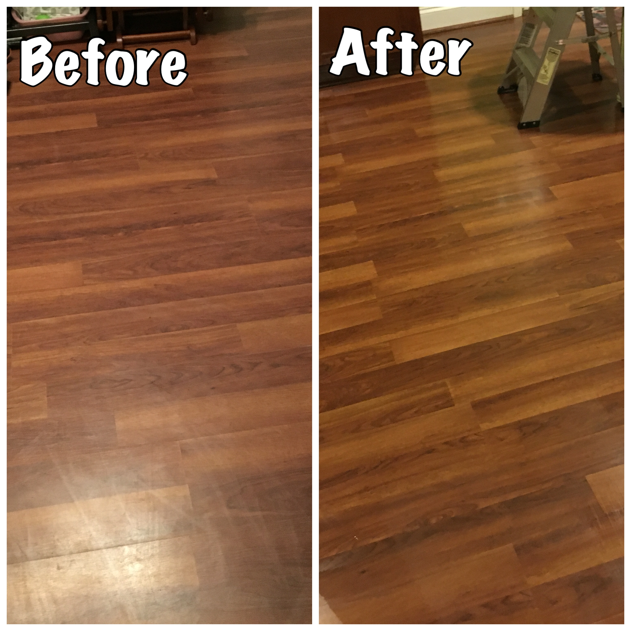 Make Wood Floors Shine Like New