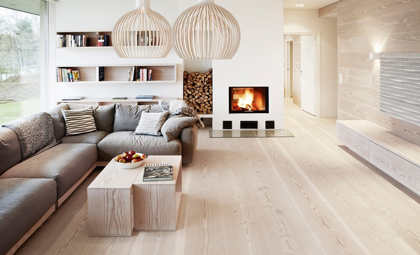 Pale Wood Flooring